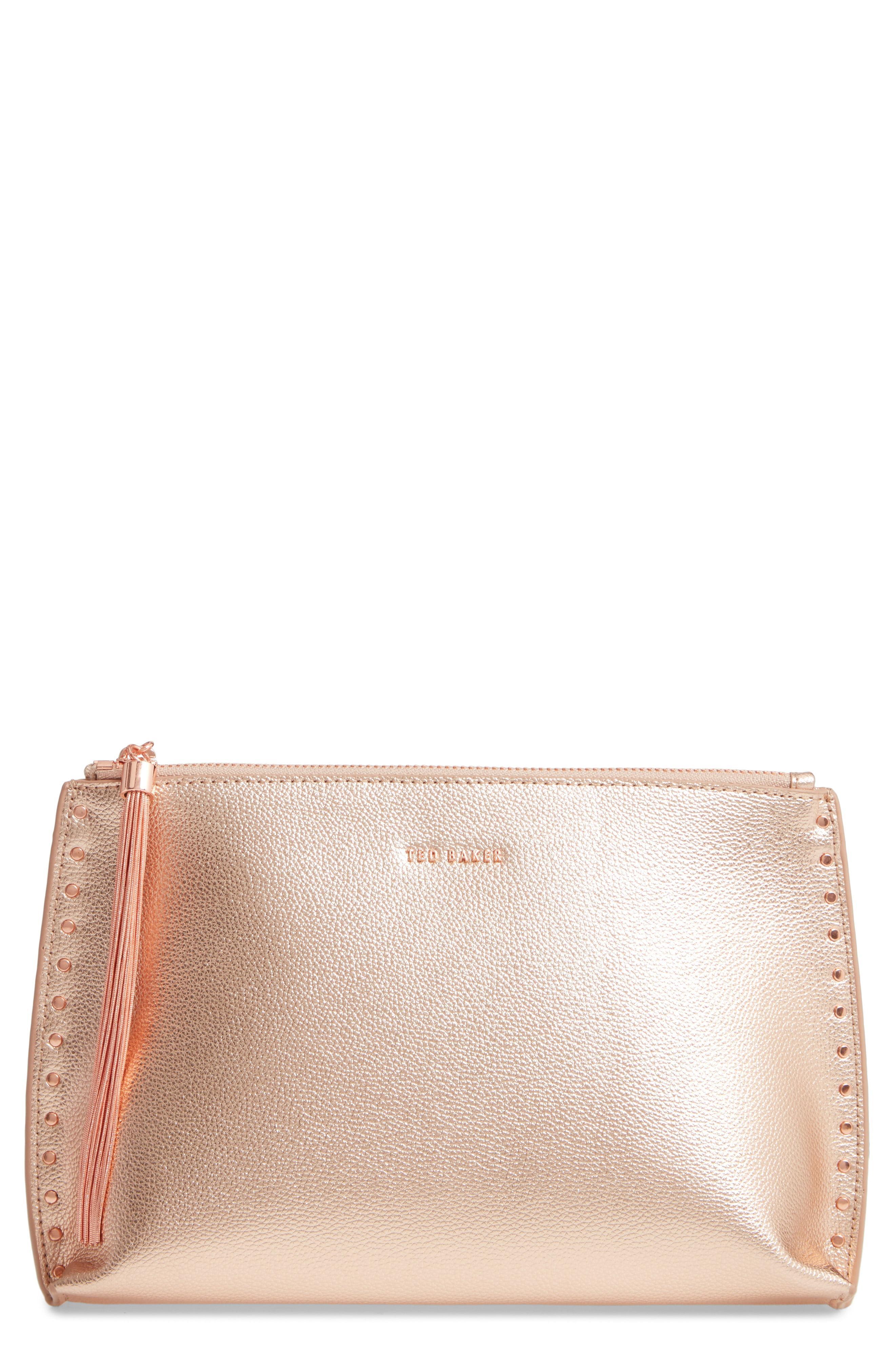 2de871cfaa Ted Baker. Women's Tesssa Chain Tassel Leather Crossbody Bag ...