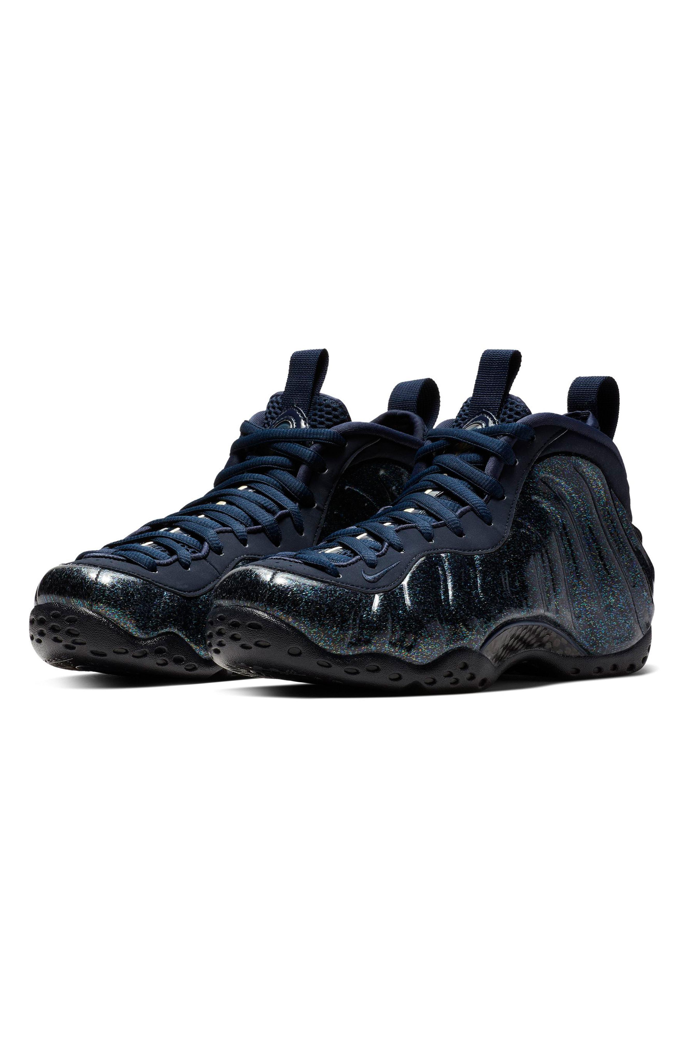 hot sale online ecc3f 87fd9 Nike. Women s Blue Air Foamposite One Sneaker