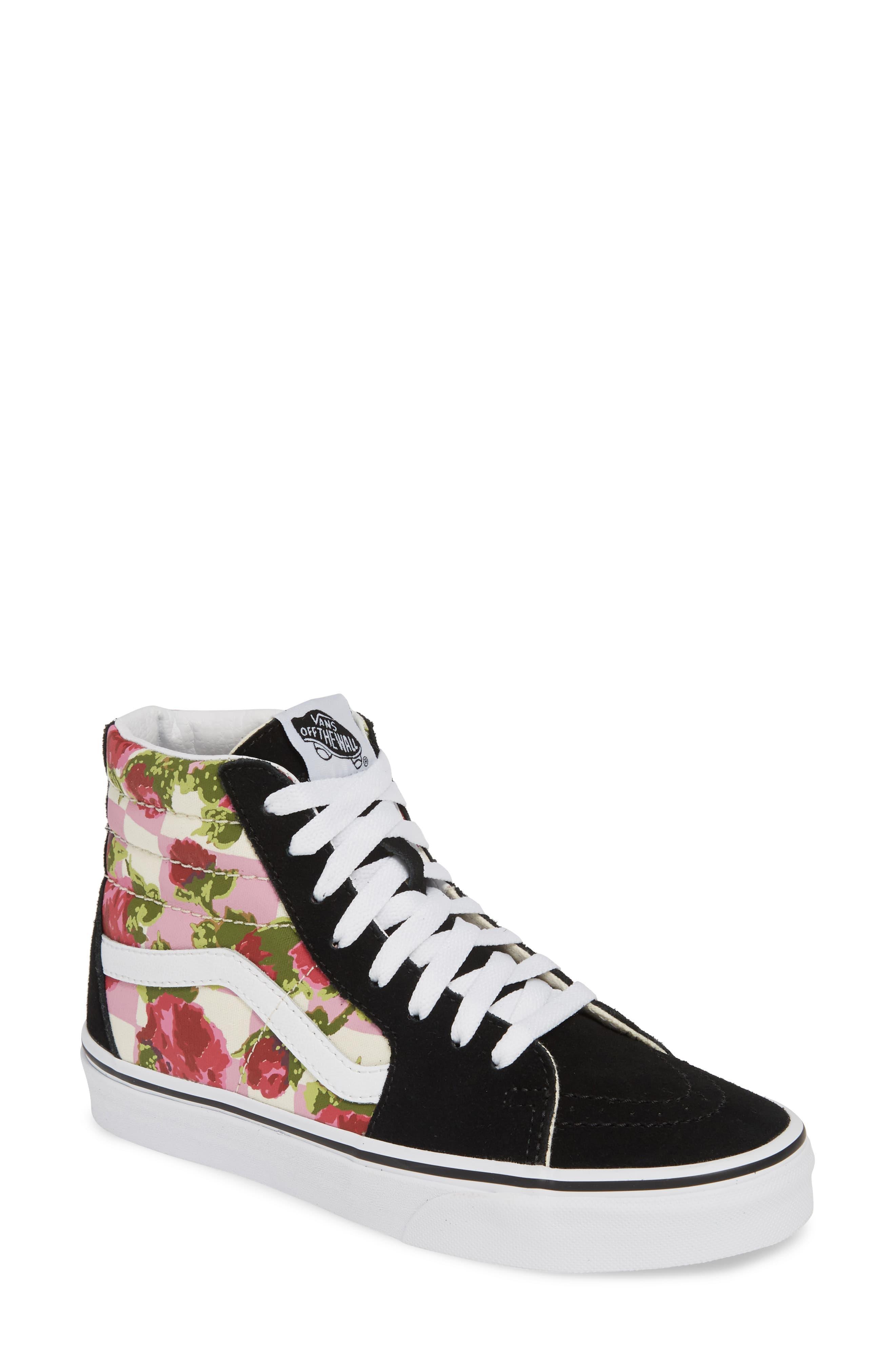 b2698d0a Women's Sk8-hi Floral Sneaker