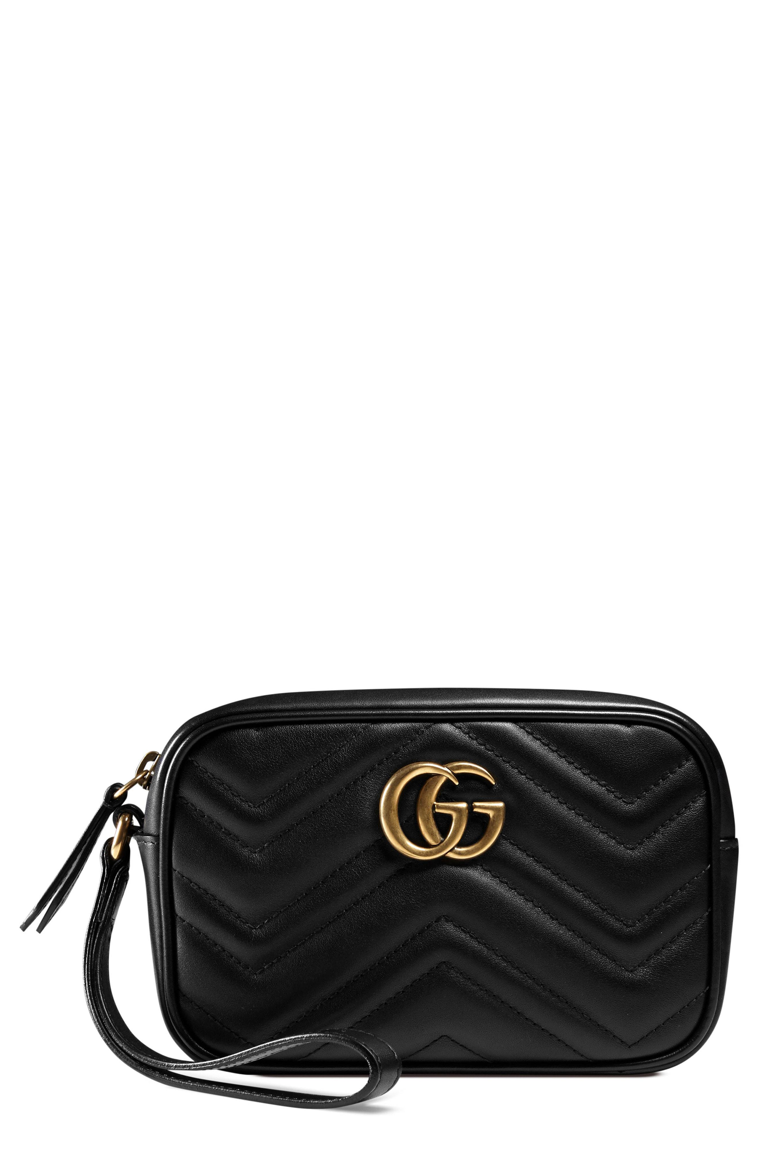 4ae4ba0cf5bd Gucci Gg Marmont Matelasse Imitation Pearl Leather Shoulder Bag - in ...