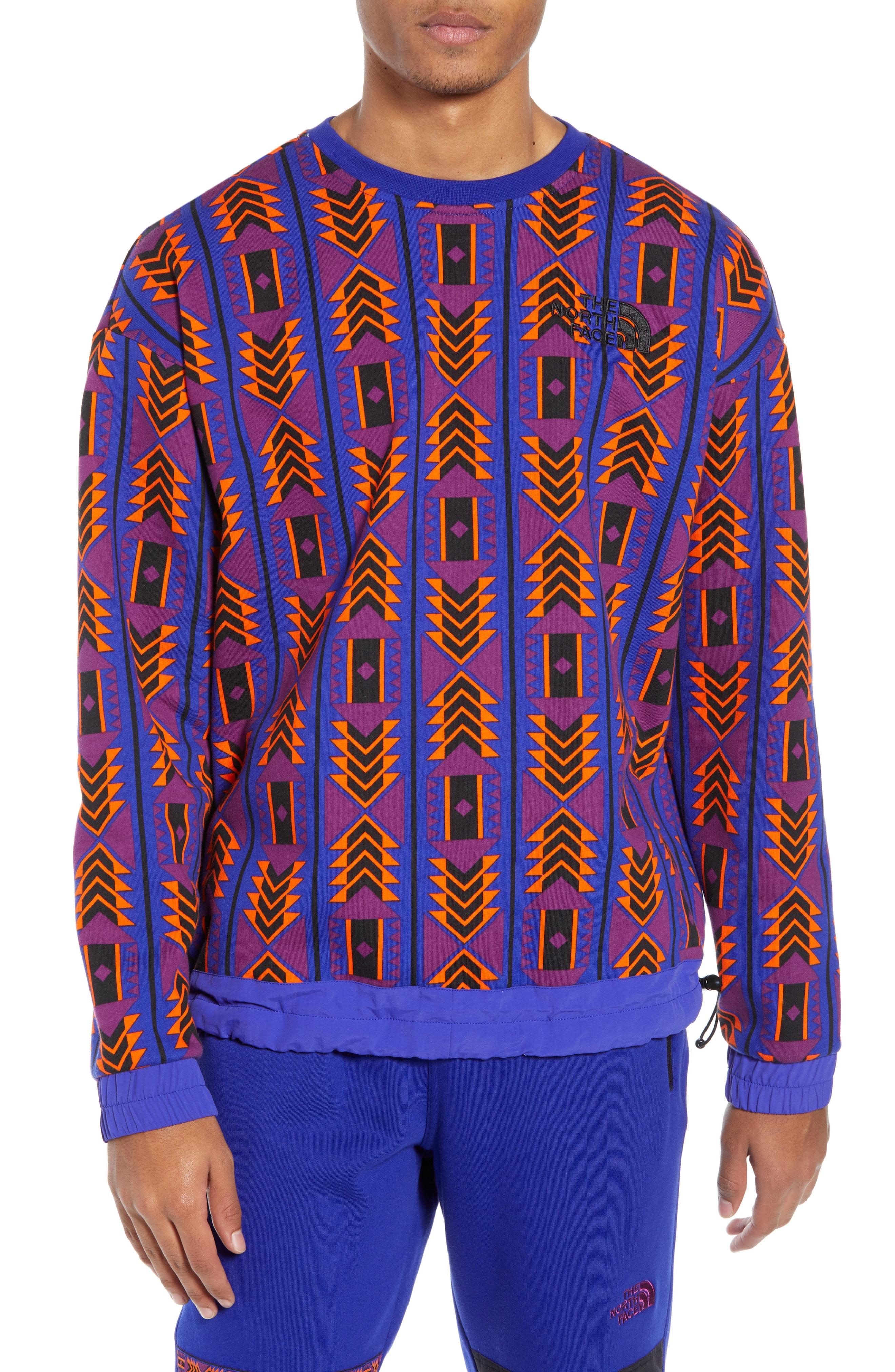 The North Face. Men s Blue  92 Rage Collection Fleece Crewneck Sweatshirt 1baab9592e