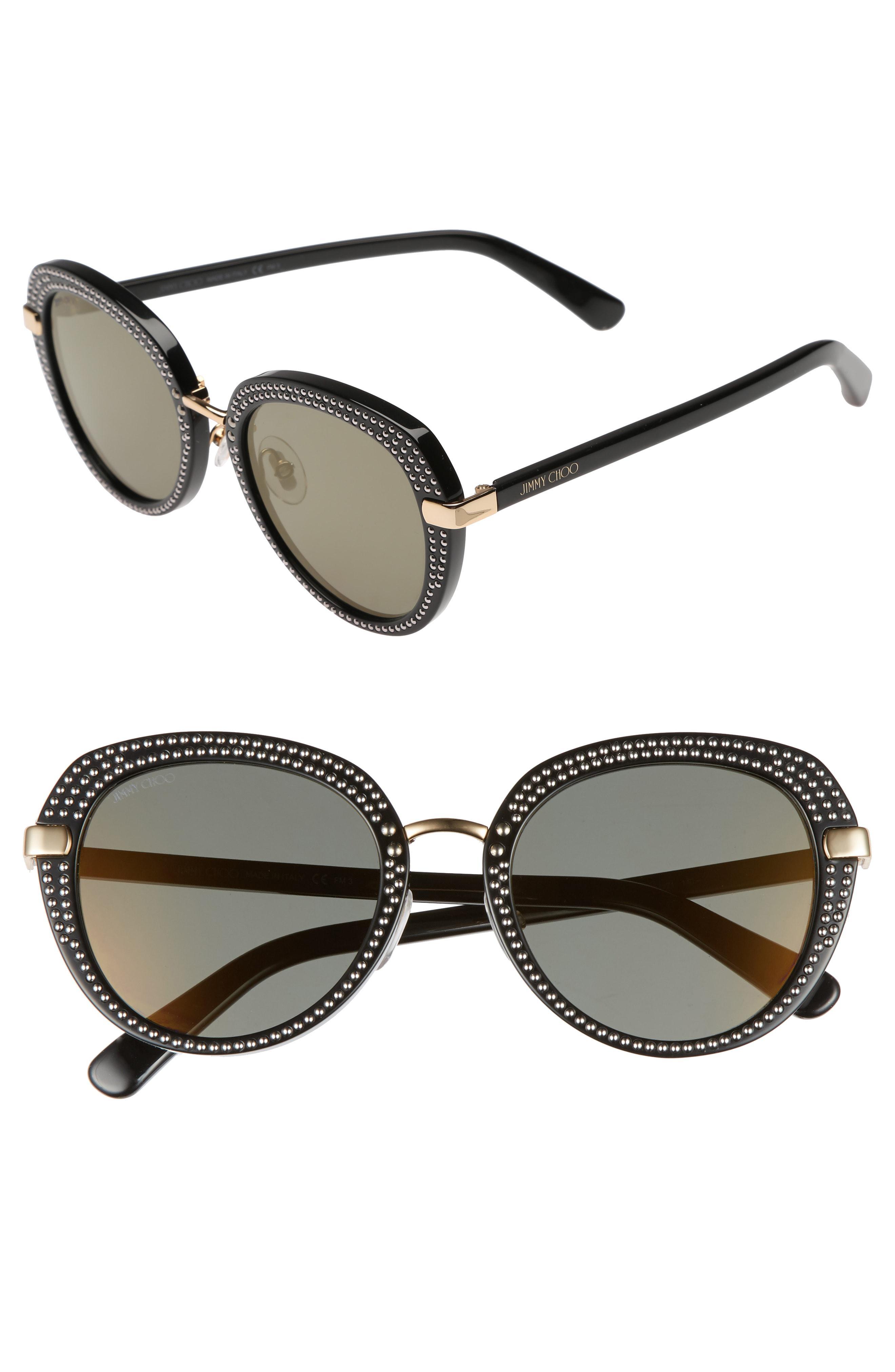Moris Sunglasses In Choo Oversize 52mm Metallic Jimmy Lyst fxZRqfE