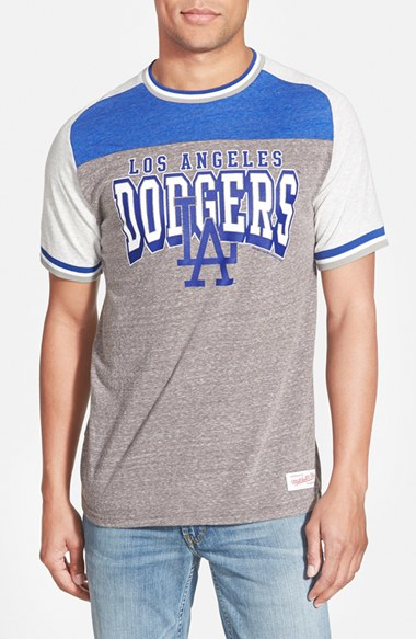 Lyst mitchell ness 39 los angeles dodgers no hitter for Custom dress shirts los angeles