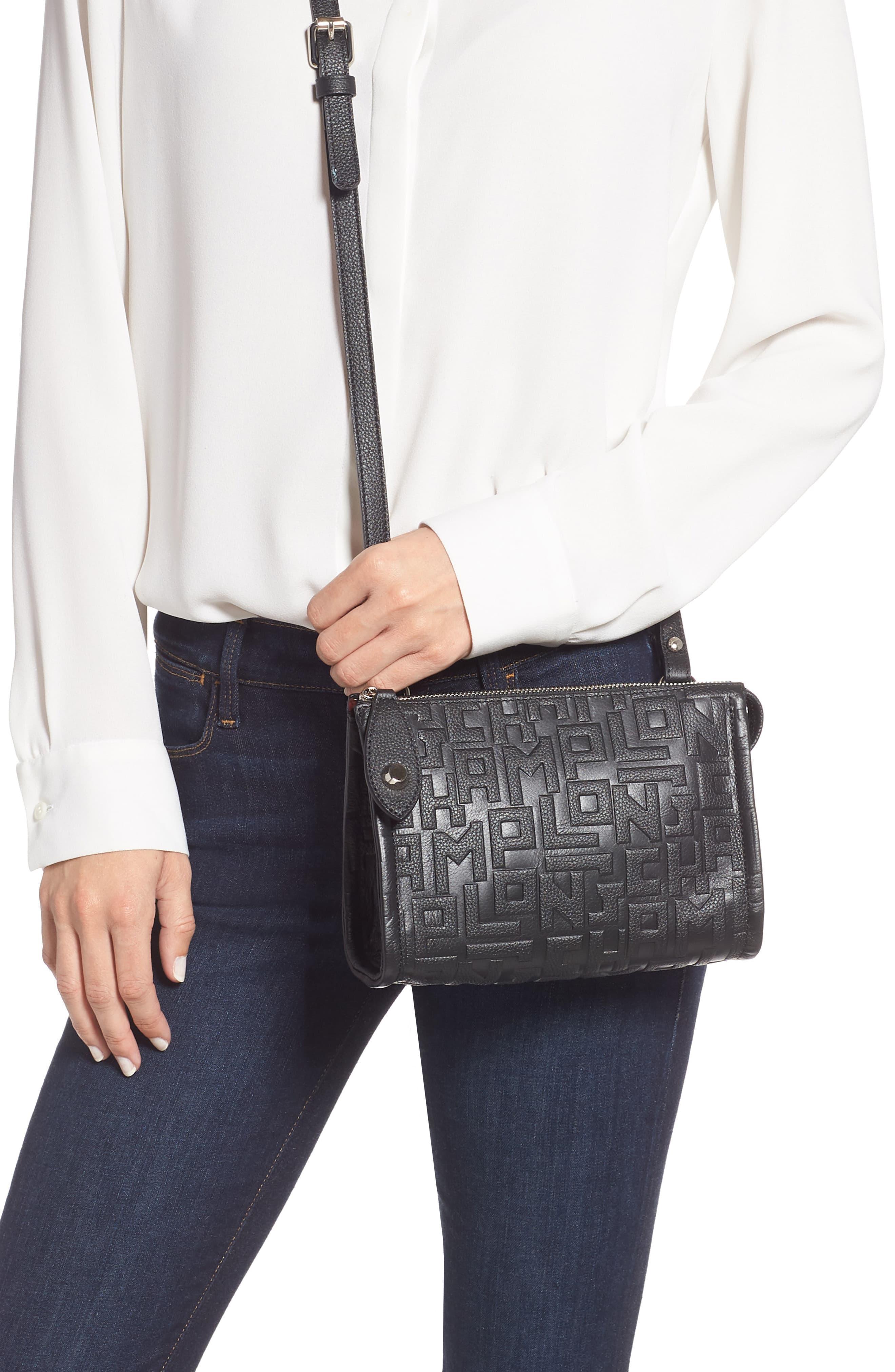 La Voyageuse Leather Crossbody Bag
