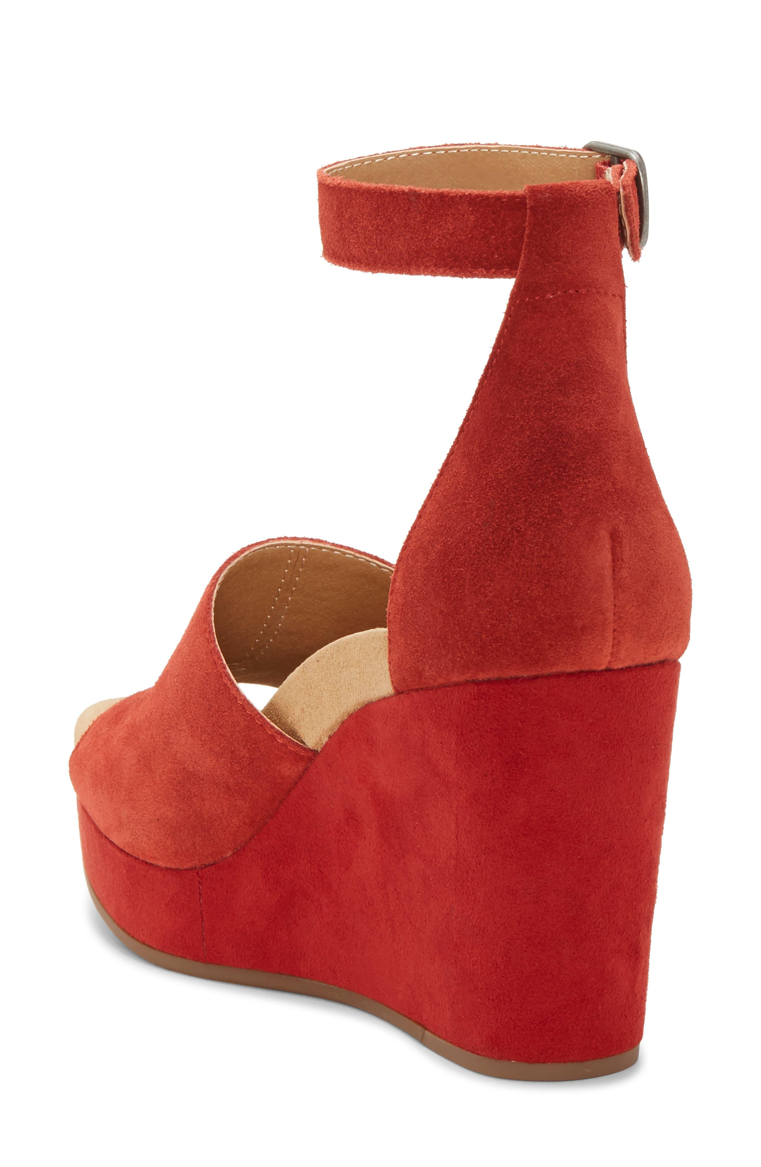 Lucky Brand Yemisa Ankle Strap Wedge in