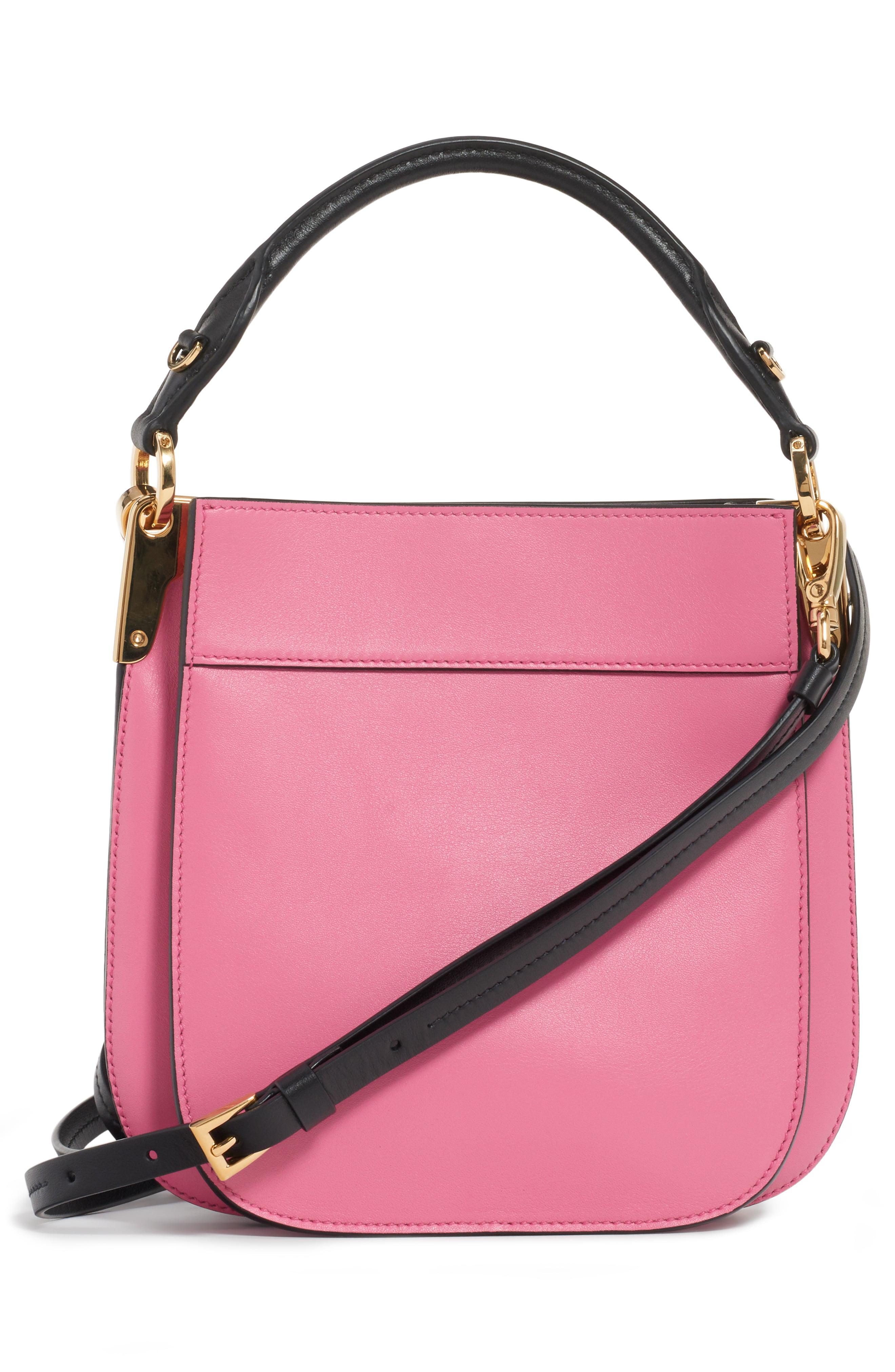 80926282539cef Prada - Pink Large Margit Shoulder Bag - Lyst. View fullscreen