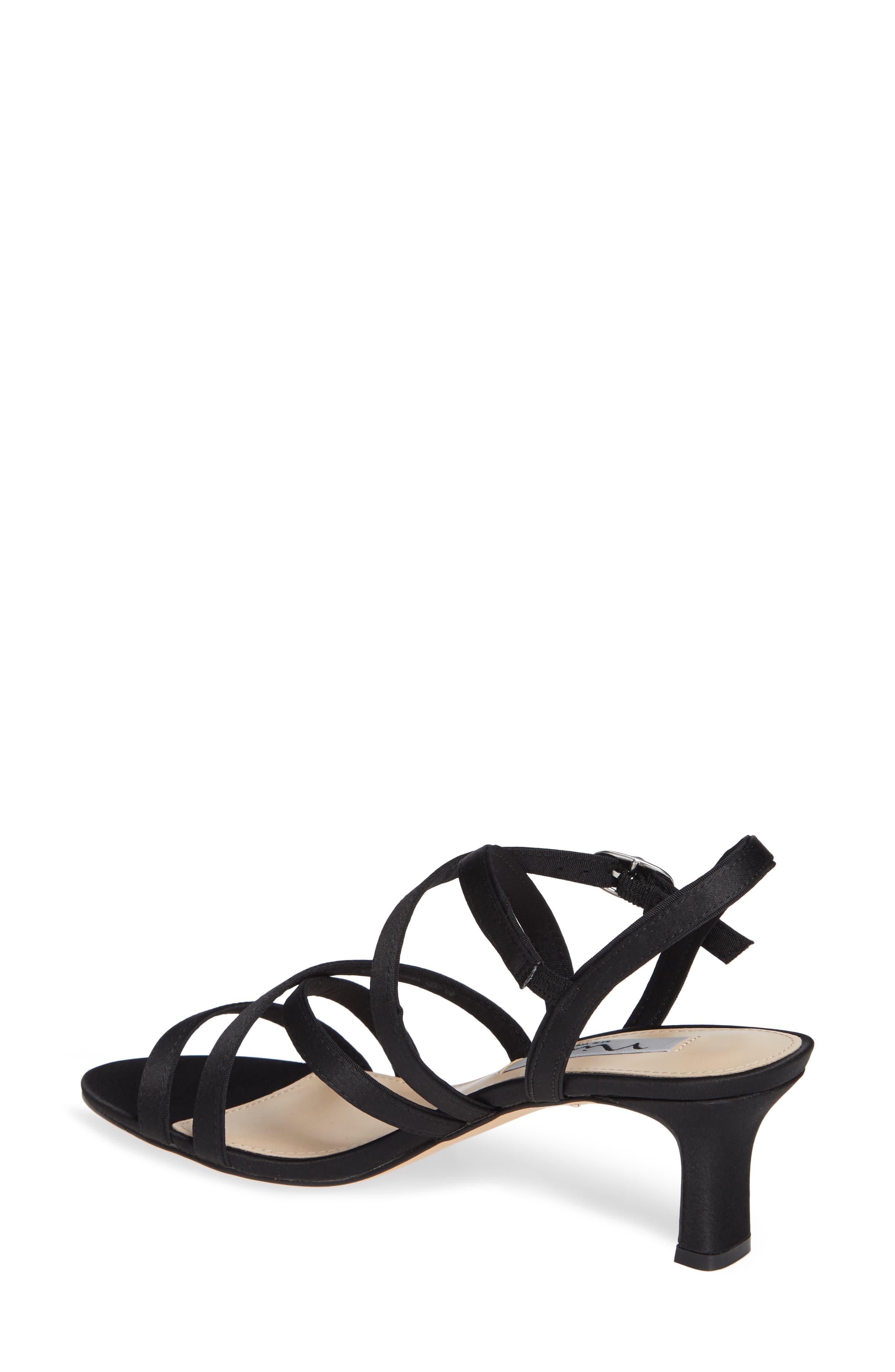 c6b6208d0 Nina Genaya Strappy Evening Sandal in Black - Save 33% - Lyst