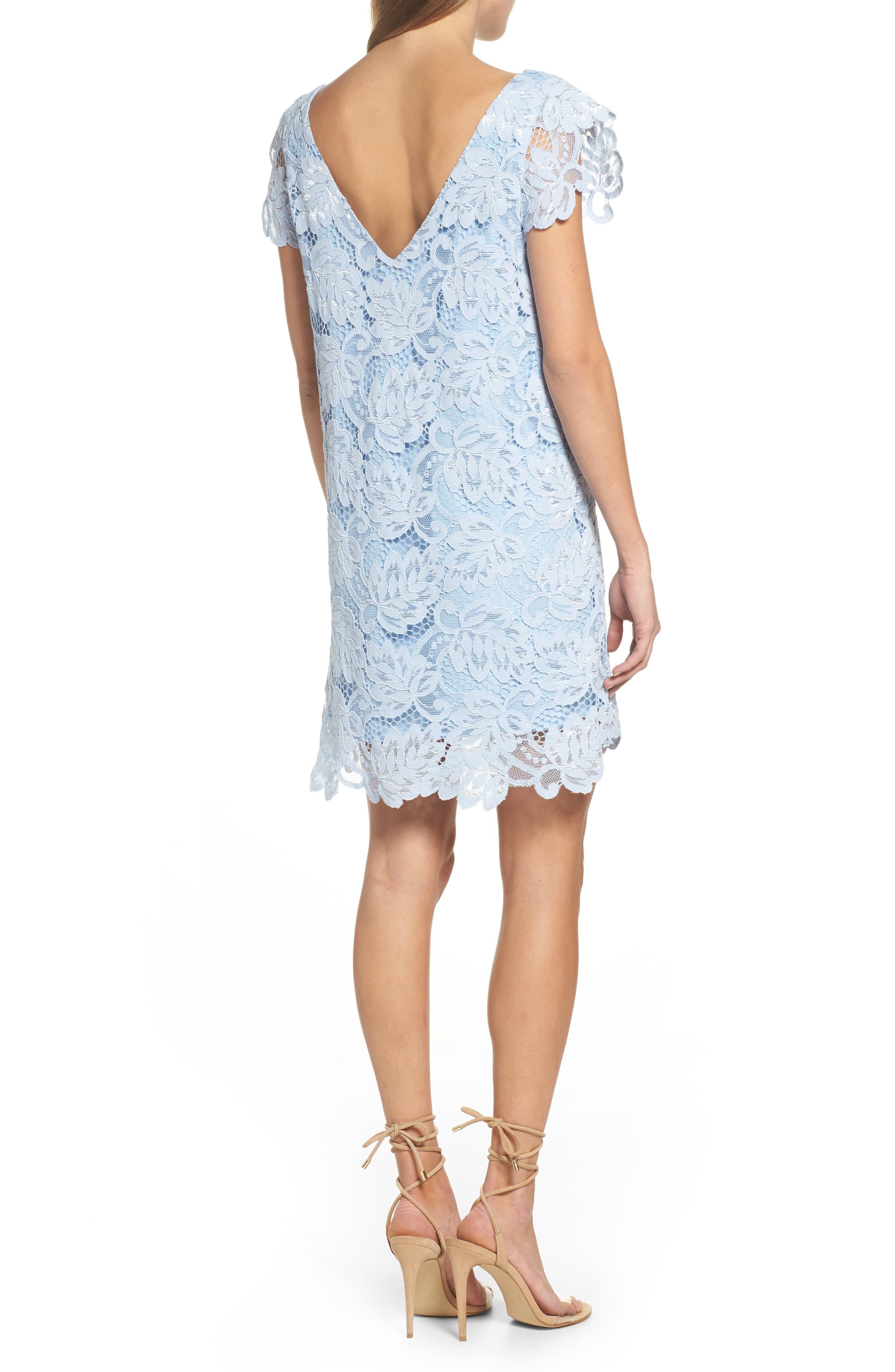 Jacqueline Lace Shift Dress