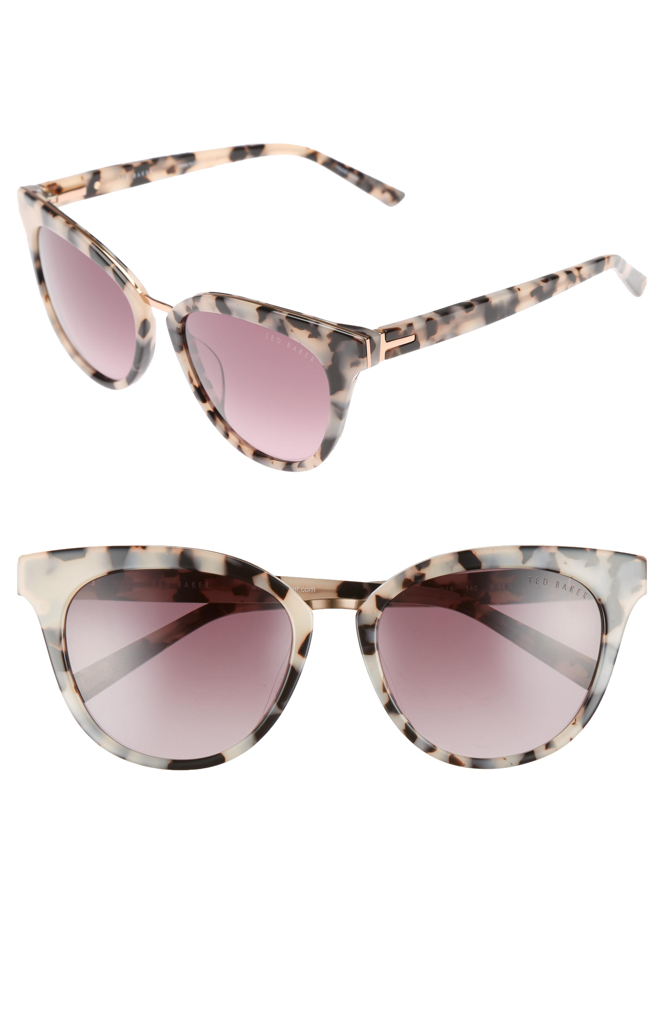 ad03370aa3 Lyst - Ted Baker 53mm Cat Eye Sunglasses -