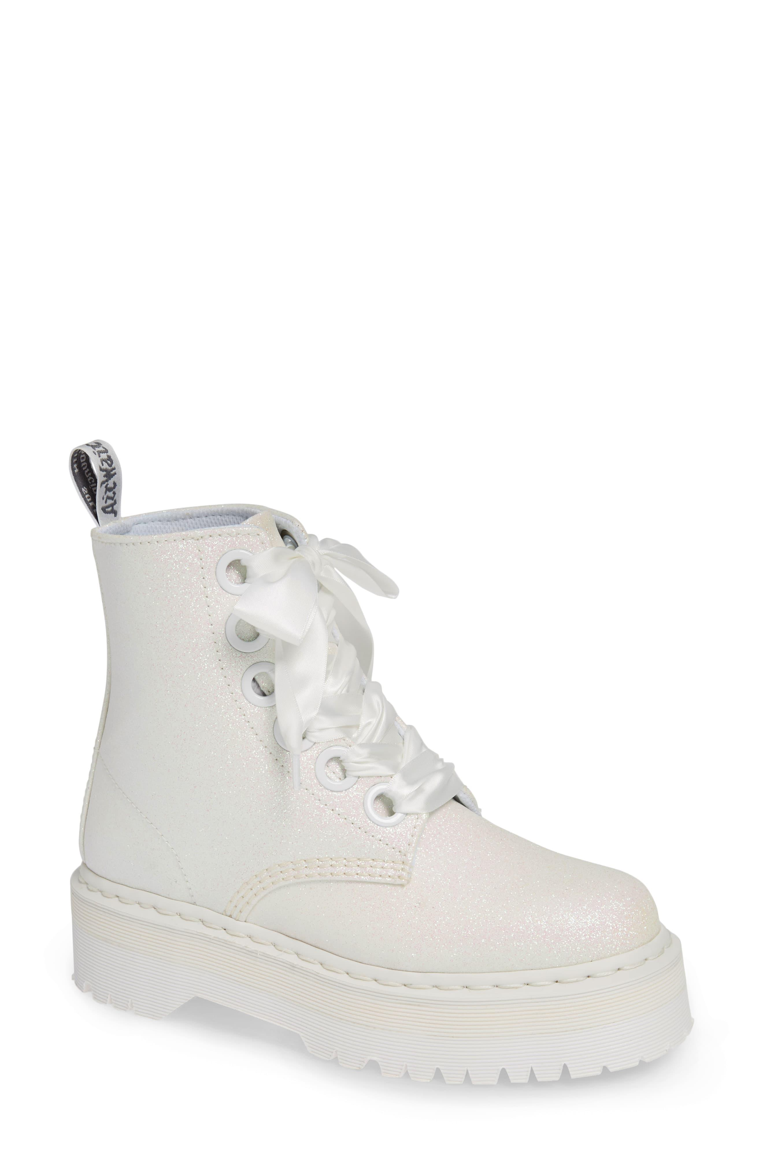 doc martins white boots