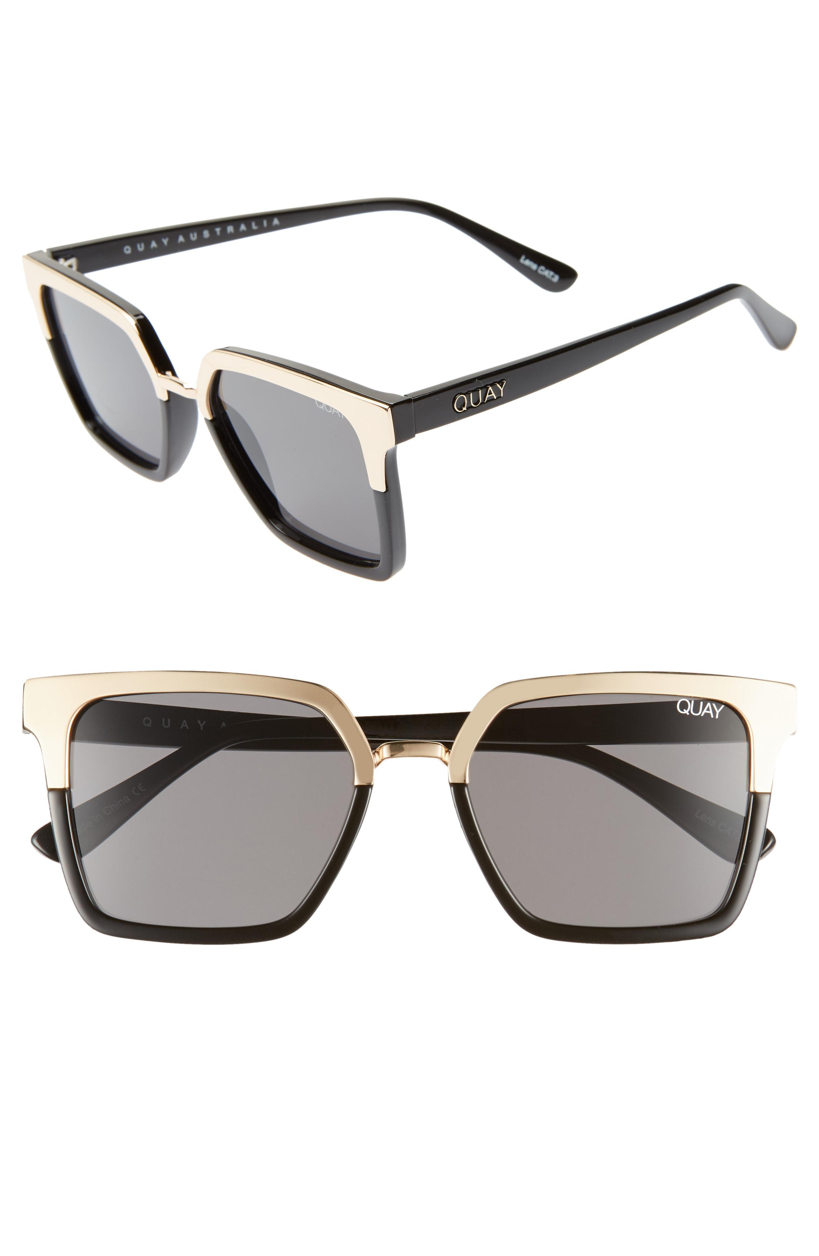 de5c5f2ca7923 Lyst - Quay X Jaclyn Hill Upgrade 55mm Square Sunglasses -