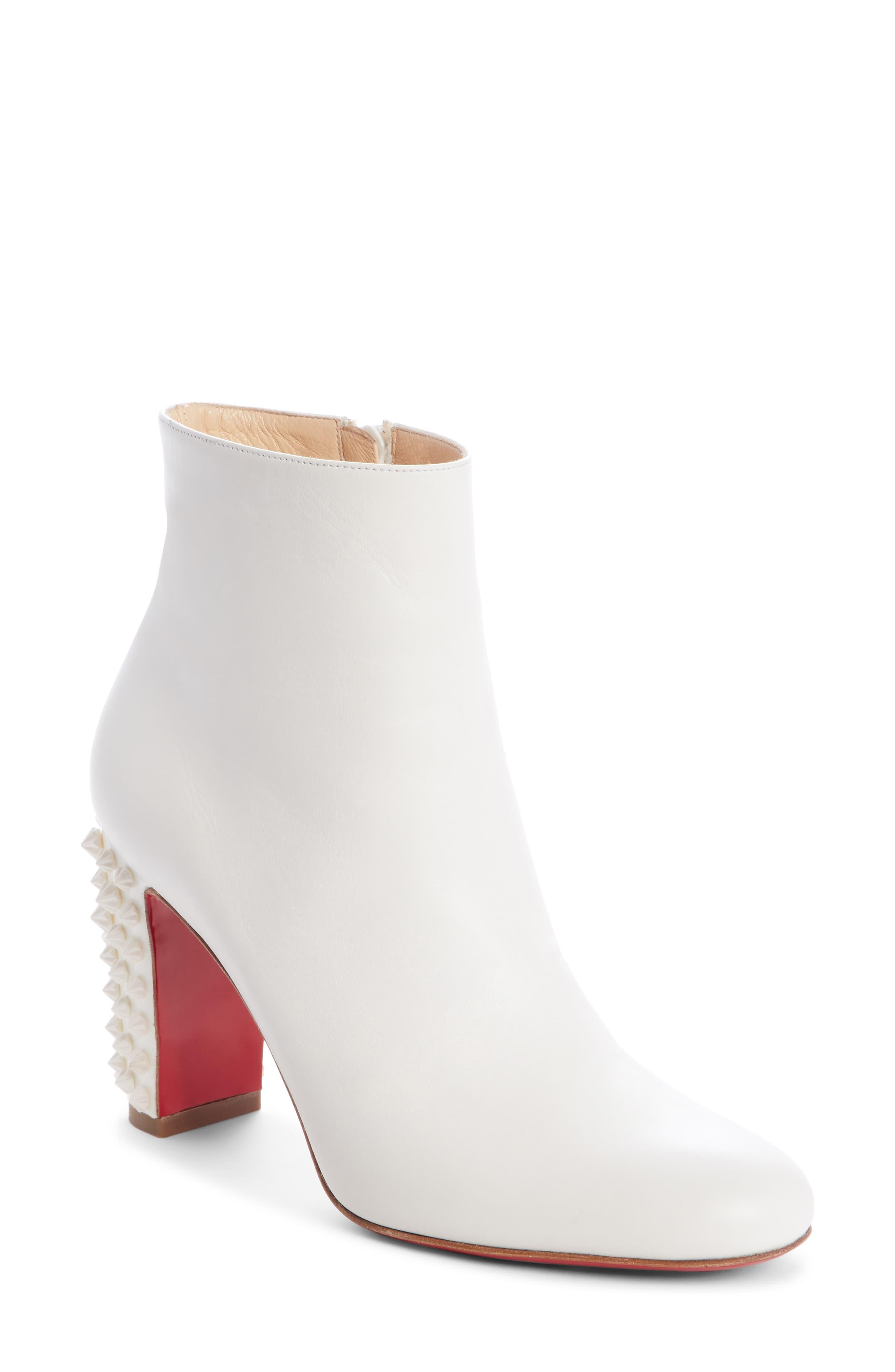 c22b0386d04 Women's White Suzi Folk Spiked Bootie