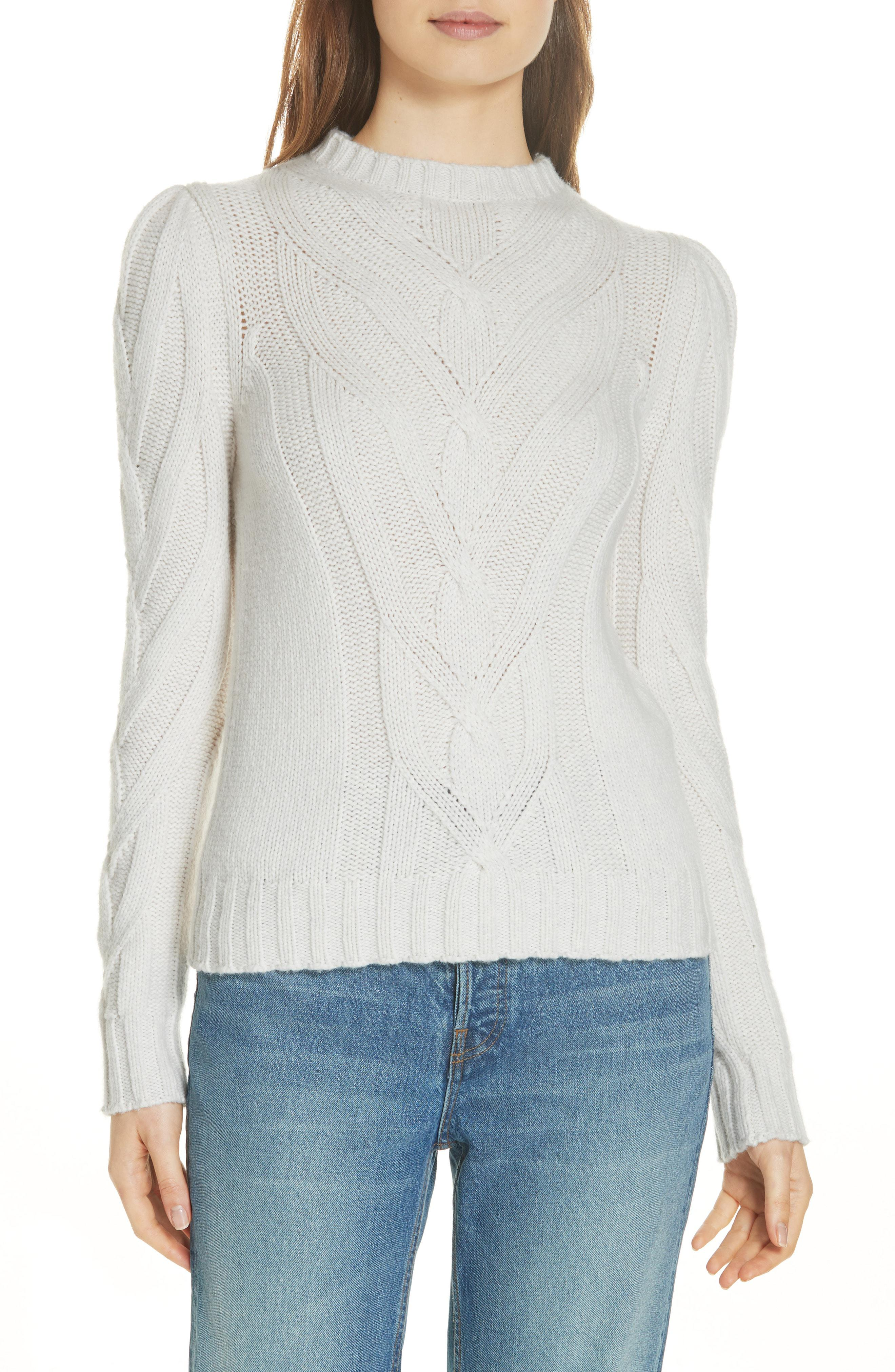 4fbb08ff2 Lyst - La Vie Rebecca Taylor Cozy Cable Sweater