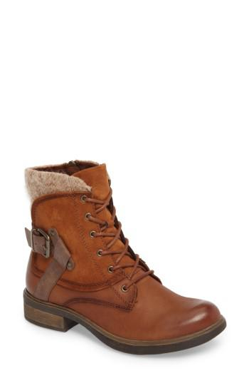 lyst tamaris helios lace up bootie in brown for men. Black Bedroom Furniture Sets. Home Design Ideas
