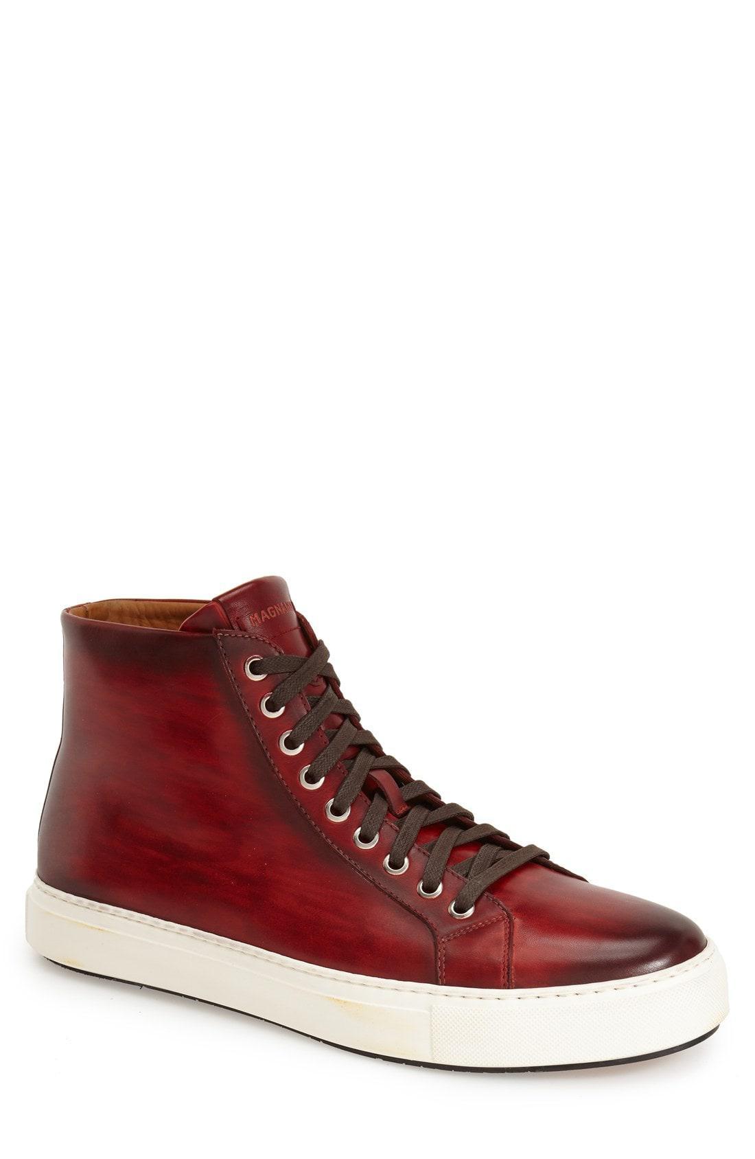 Magnanni Leather 'brando' High Top