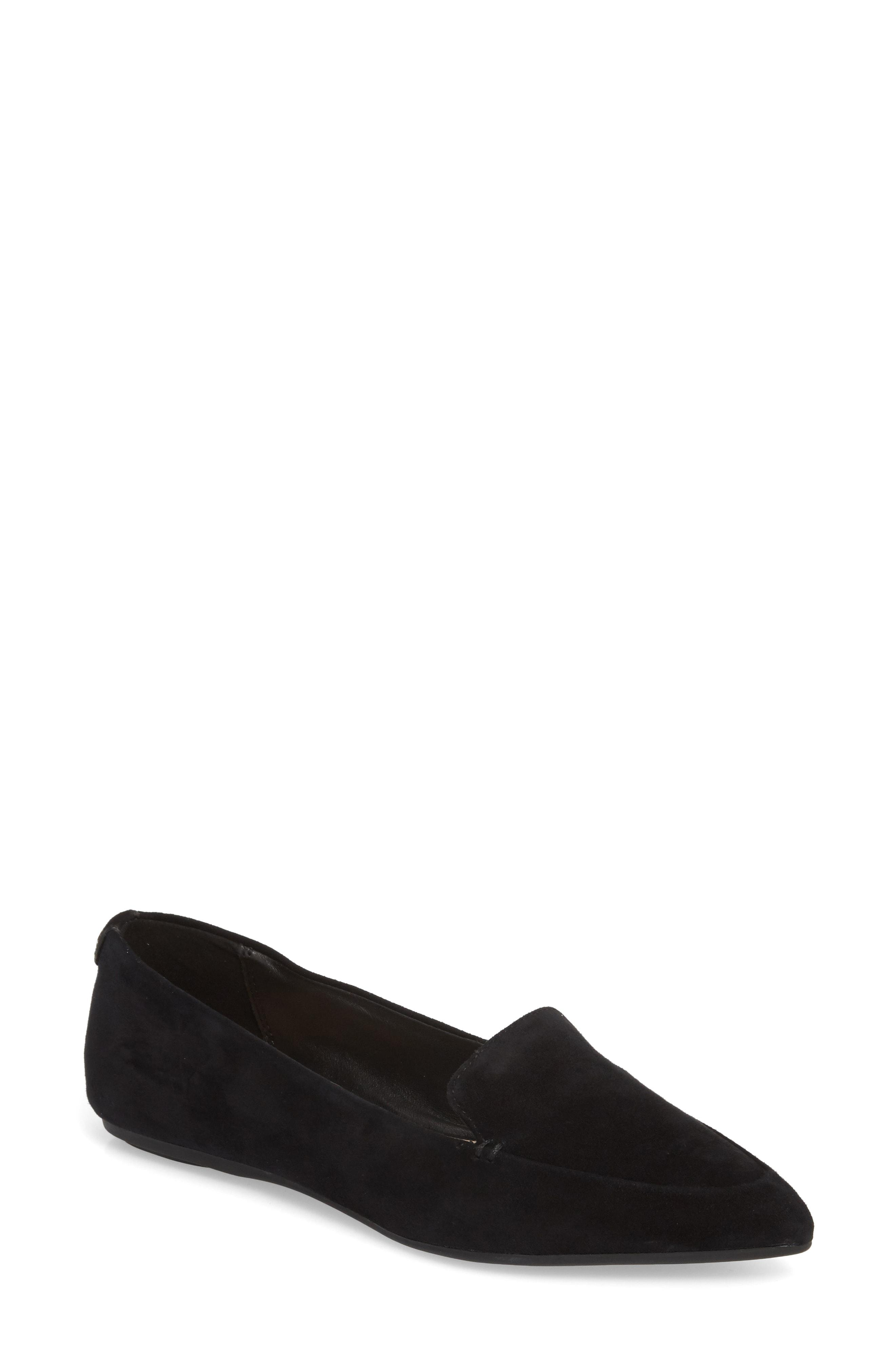 e8343478019 Taryn Rose Faye Pointy Toe Loafer in Black - Save 2% - Lyst