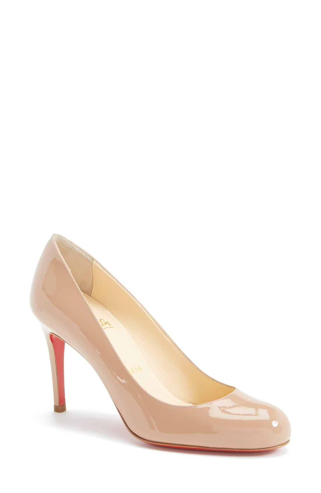 d6e469acad Christian Louboutin Simple Pump in Natural - Save 3% - Lyst