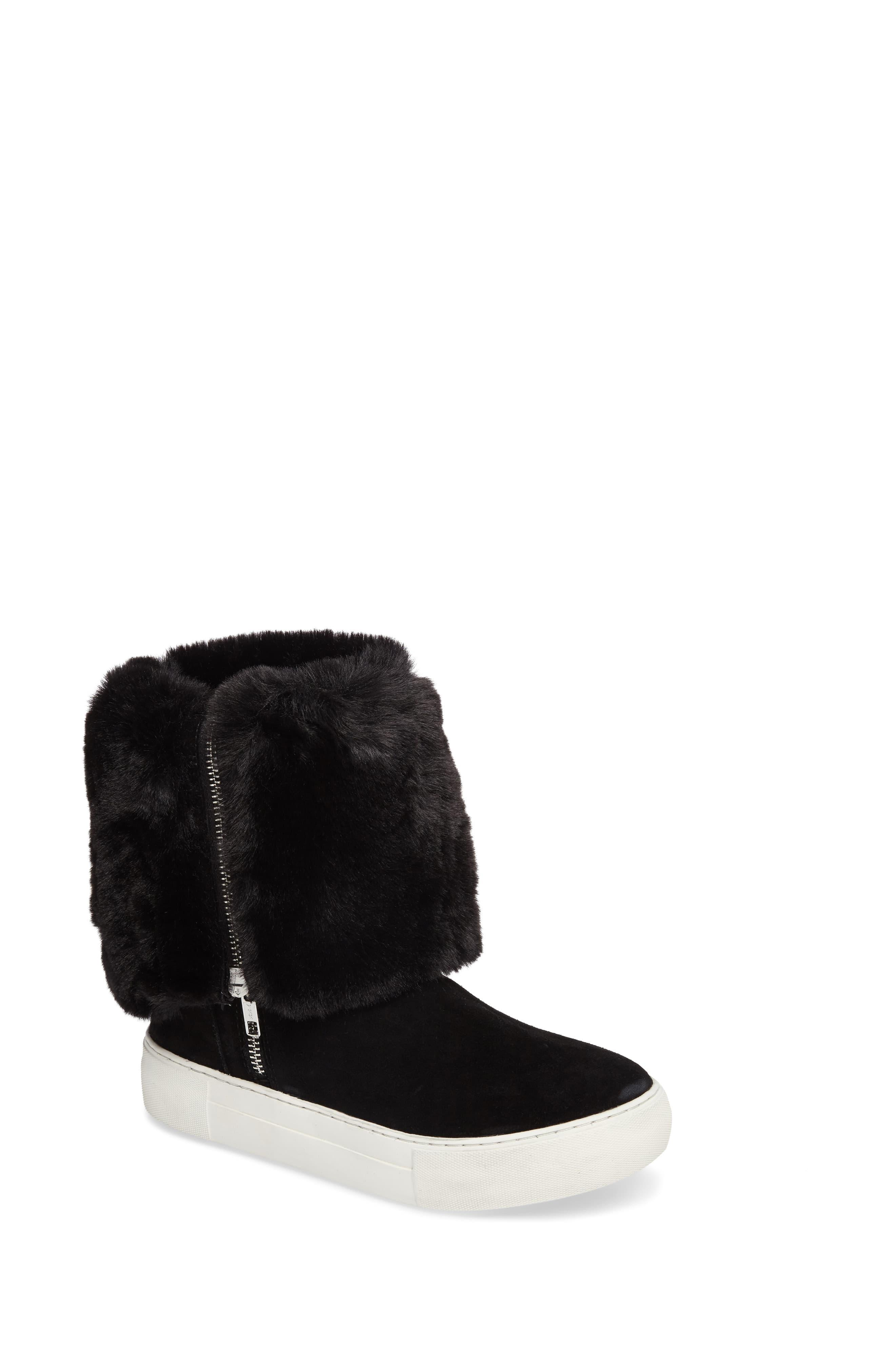 J/Slides Apple Faux Shearling Boot in