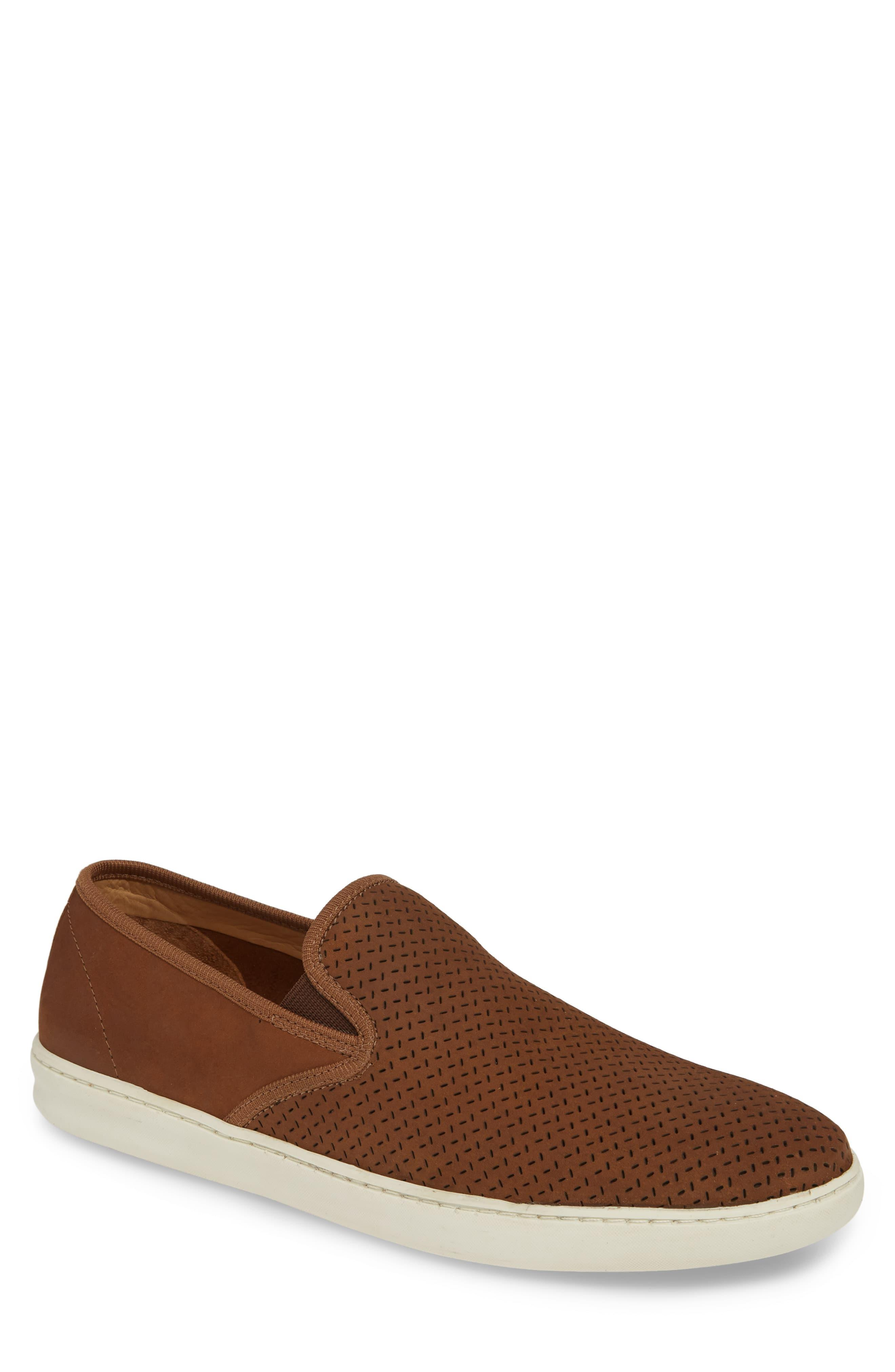 1901 Leather Malibu Perforated Loafer