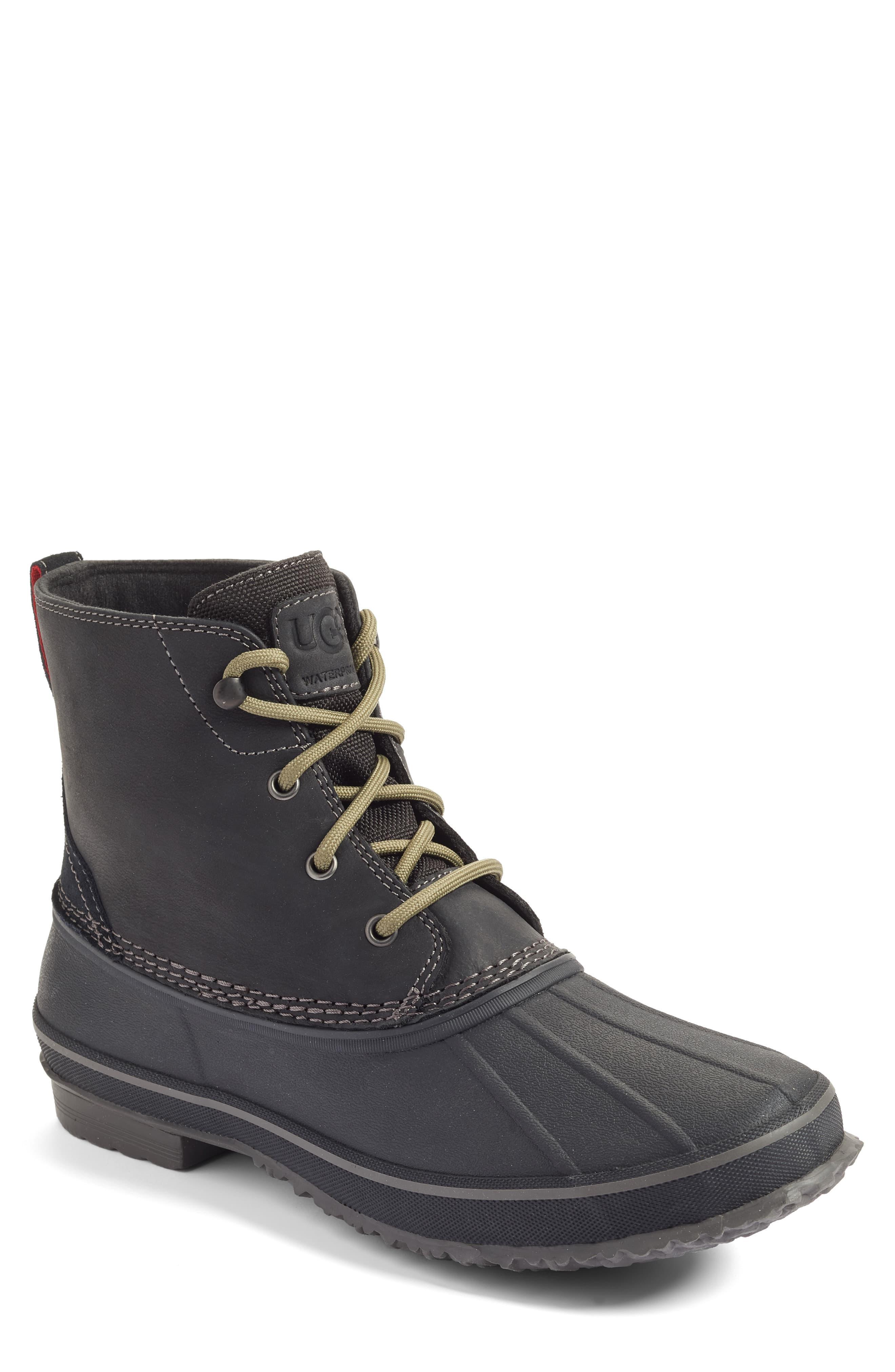a3f6faac2e8 Black Men's Zetik Waterproof Boots