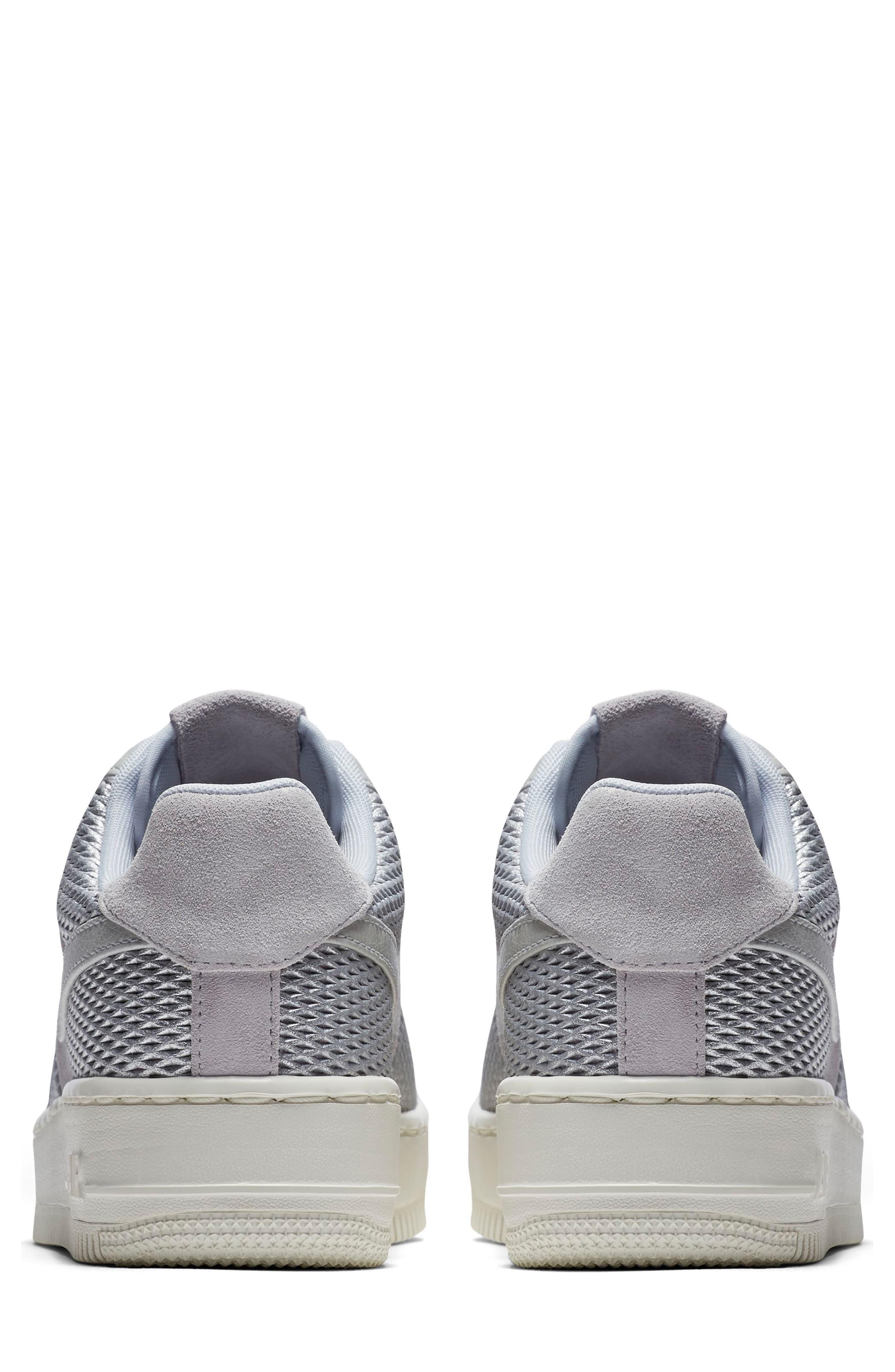 b79512f53c31c Nike Metallic Air Force 1 Upstep Premium Platform Sneaker