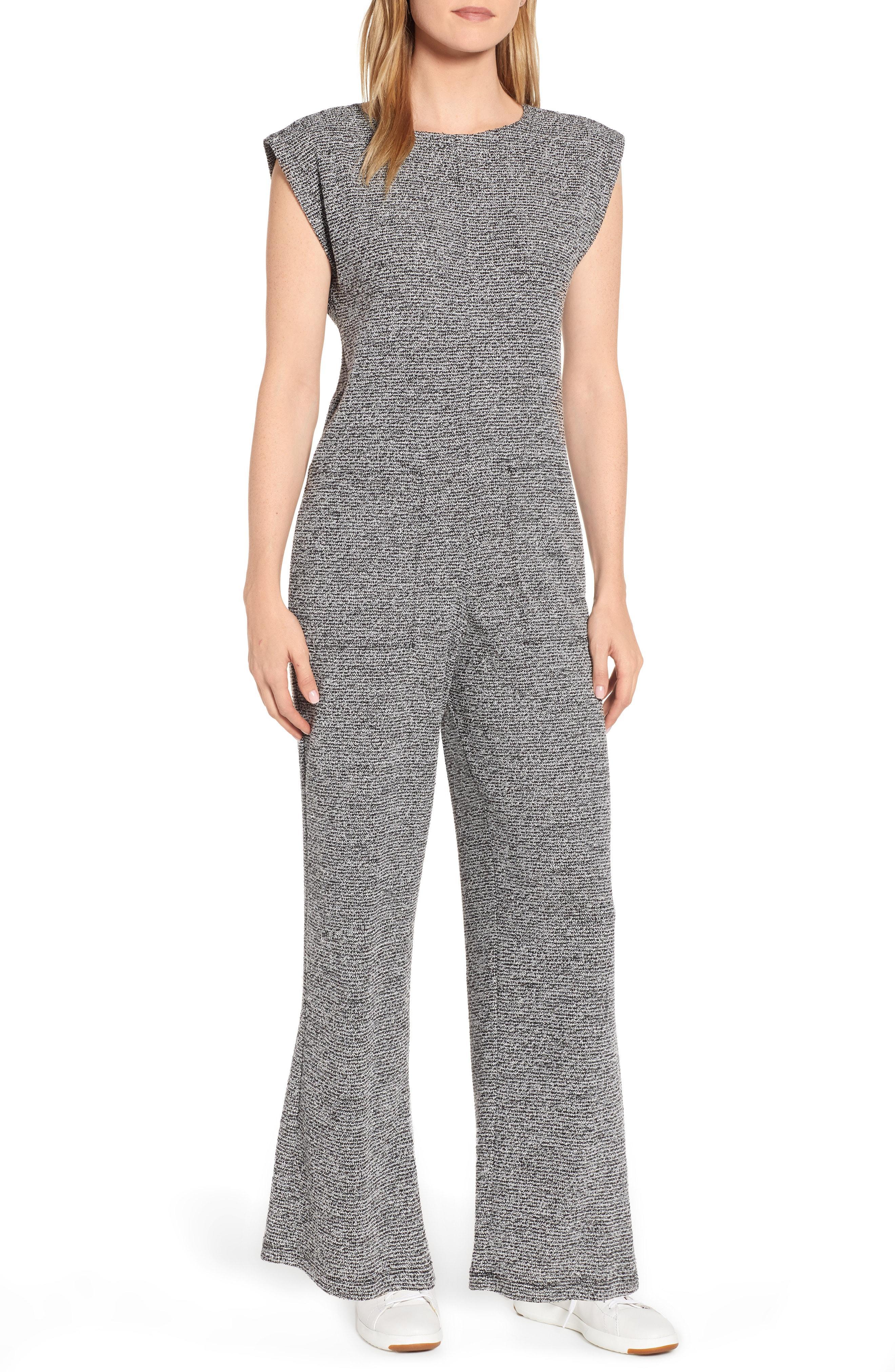 257a69d3e80c Lyst - Lou   Grey Loyola Boucle Knit Jumpsuit in Black