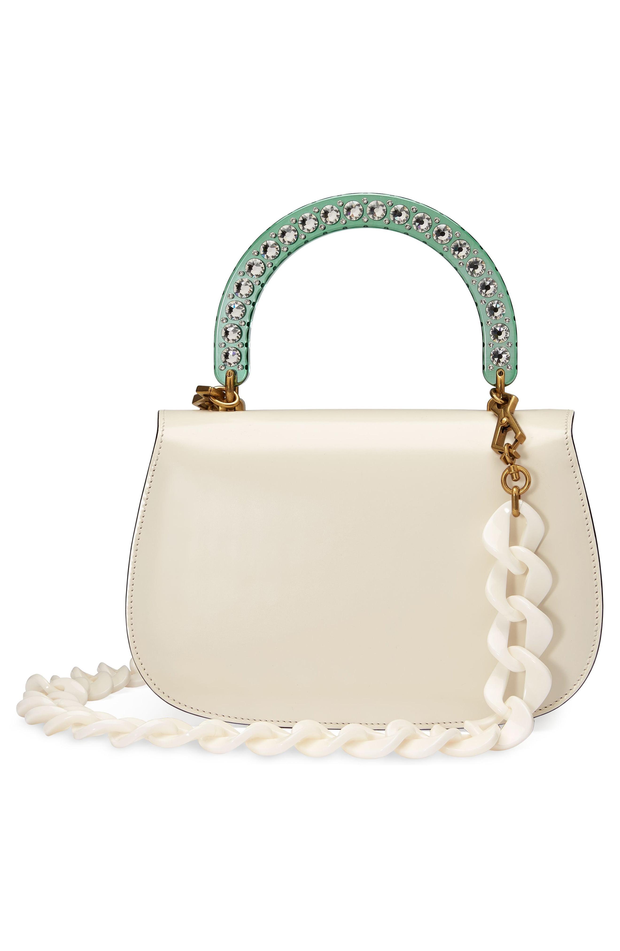 9ed5814afc2 Gucci - Green Medium Classic 2 Top Handle Shoulder Bag - - Lyst. View  fullscreen