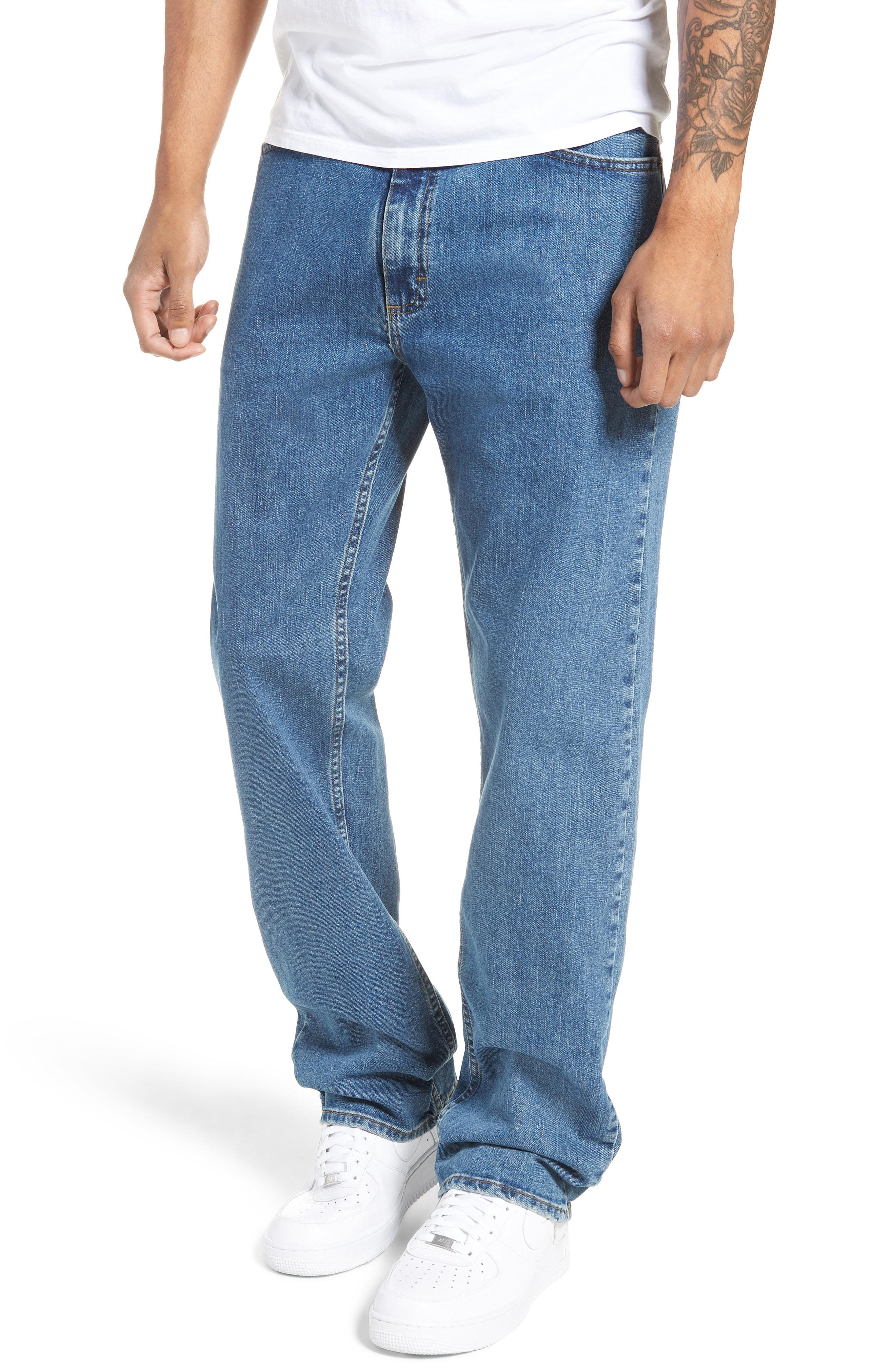 10083b4c7b Lyst - Vans V96 Relaxed Fit Jeans in Blue for Men