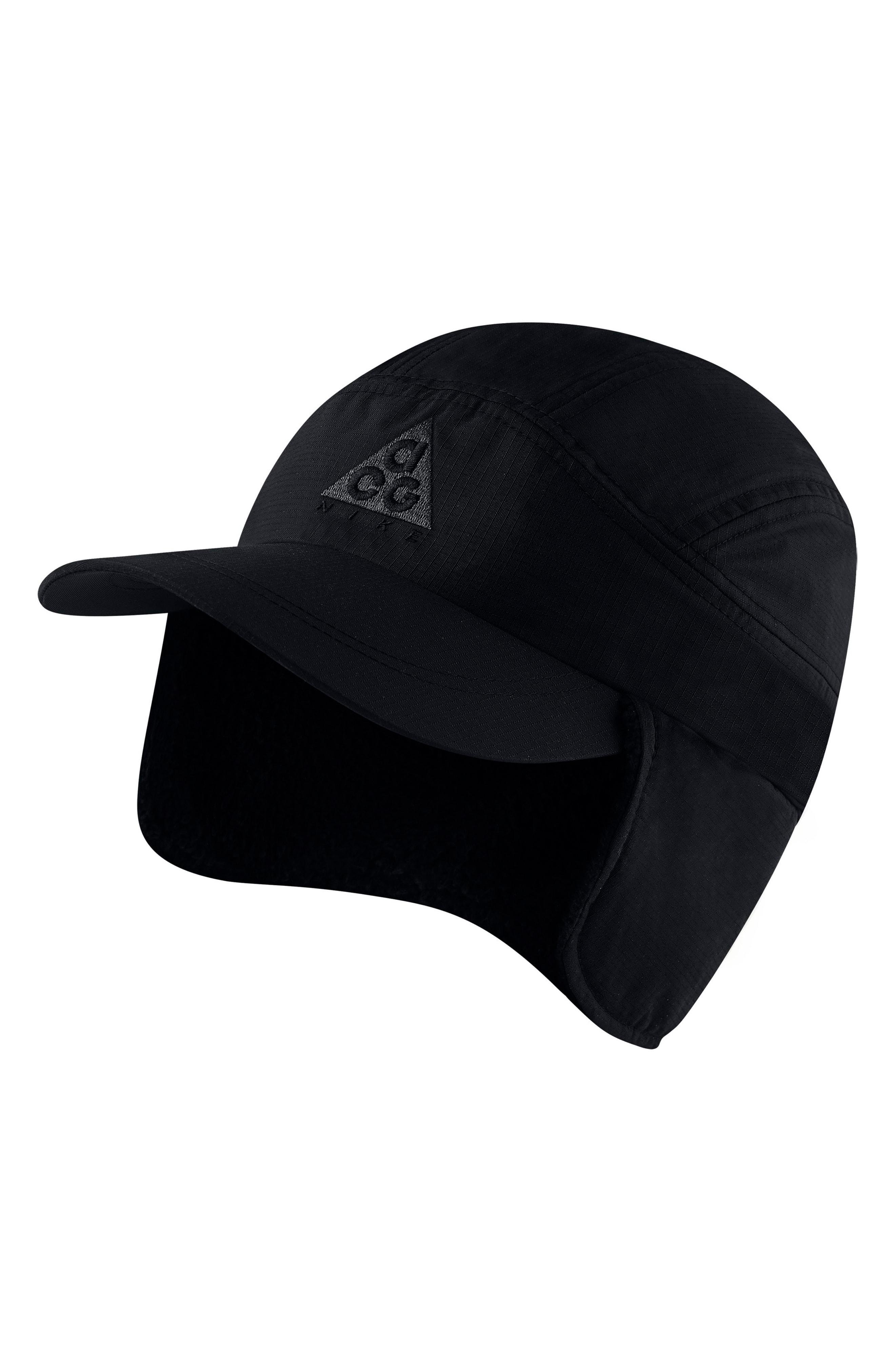 767f12636 Nike Black Sportswear Acg Tailwind Fleece Cap for men