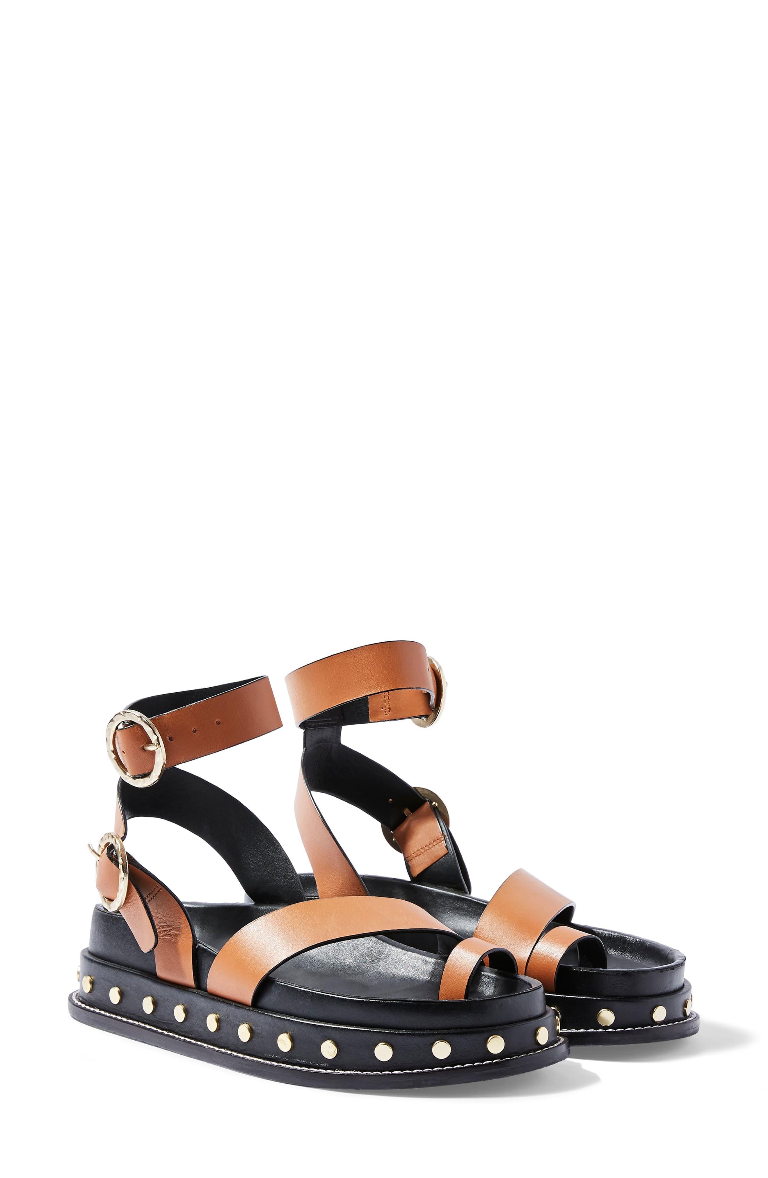 latest design online for sale discount Fawn Studded Platform Sandal
