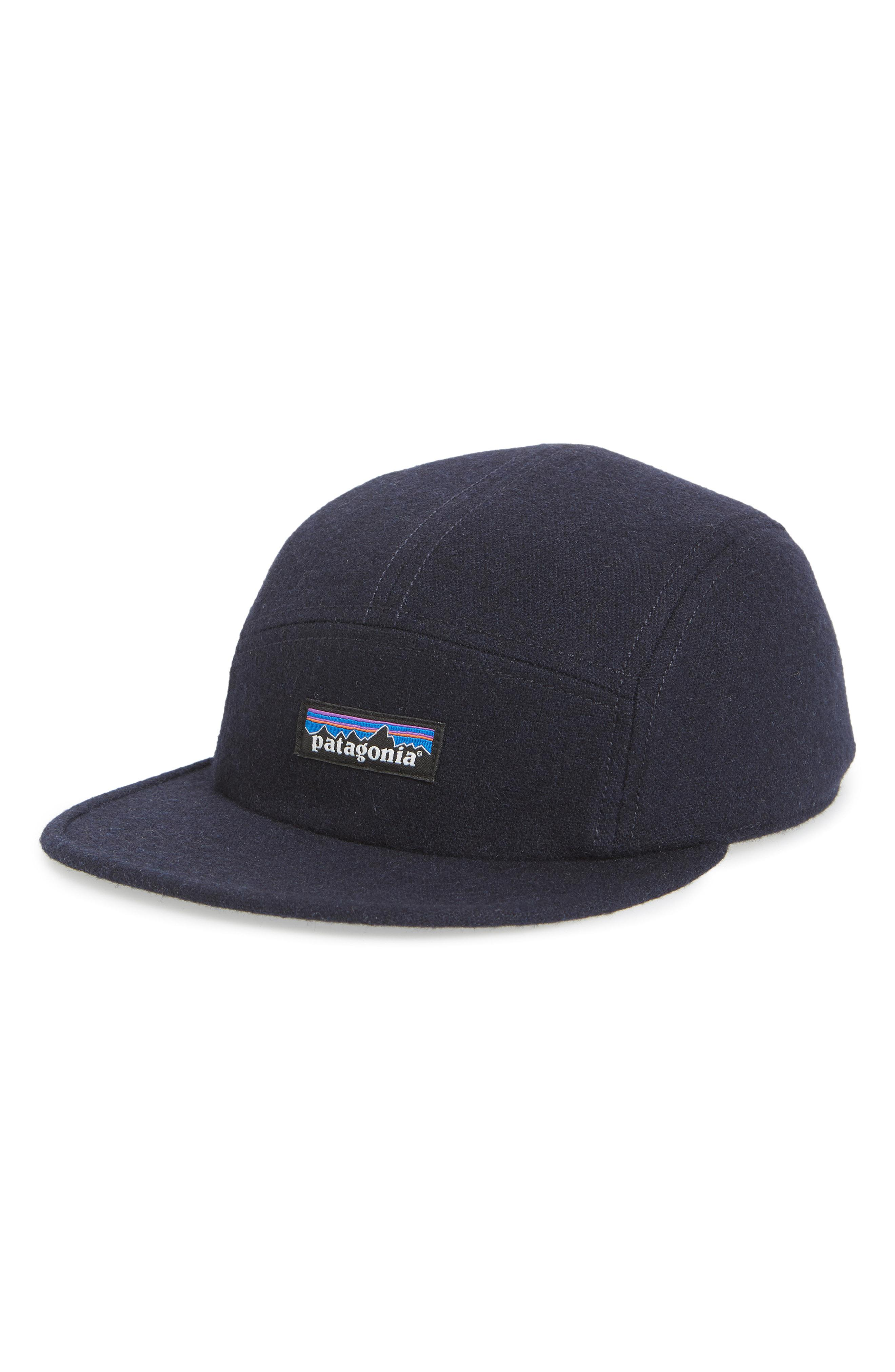 82b3450d Patagonia Recycled Wool Ball Cap in Blue for Men - Lyst