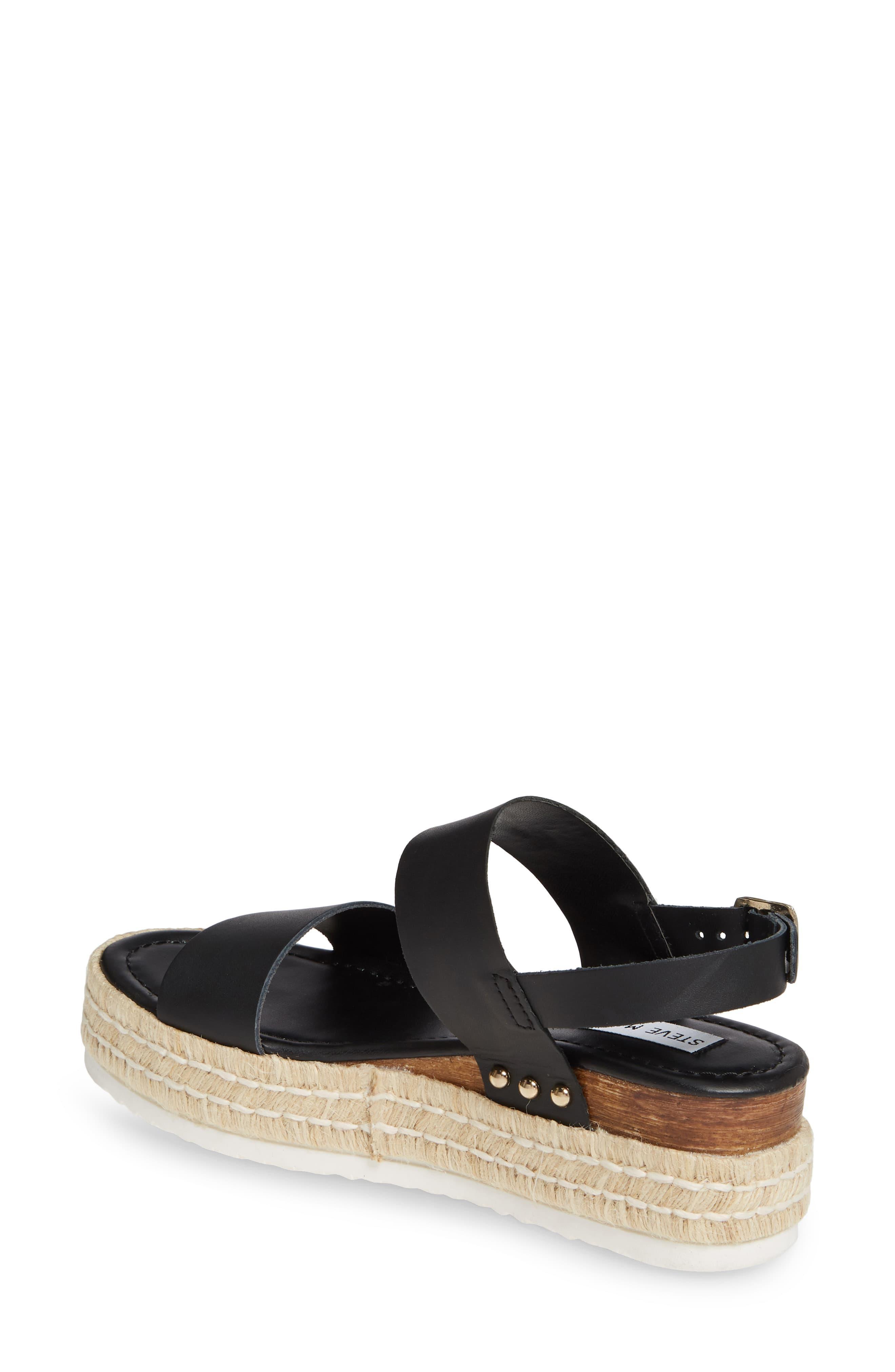 c24822a23fe Women's Black Catia Espadrille Wedge Sandal