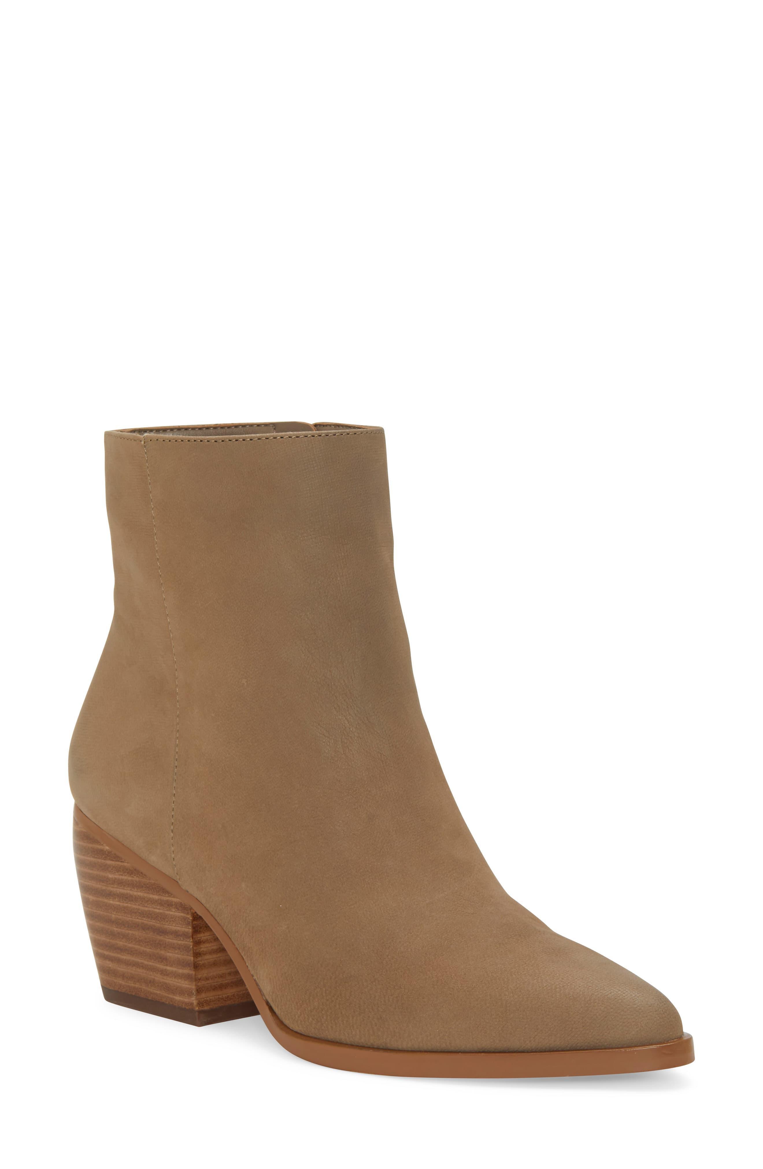 a71a1df661e Women's Brown Mabbin Block Heel Bootie