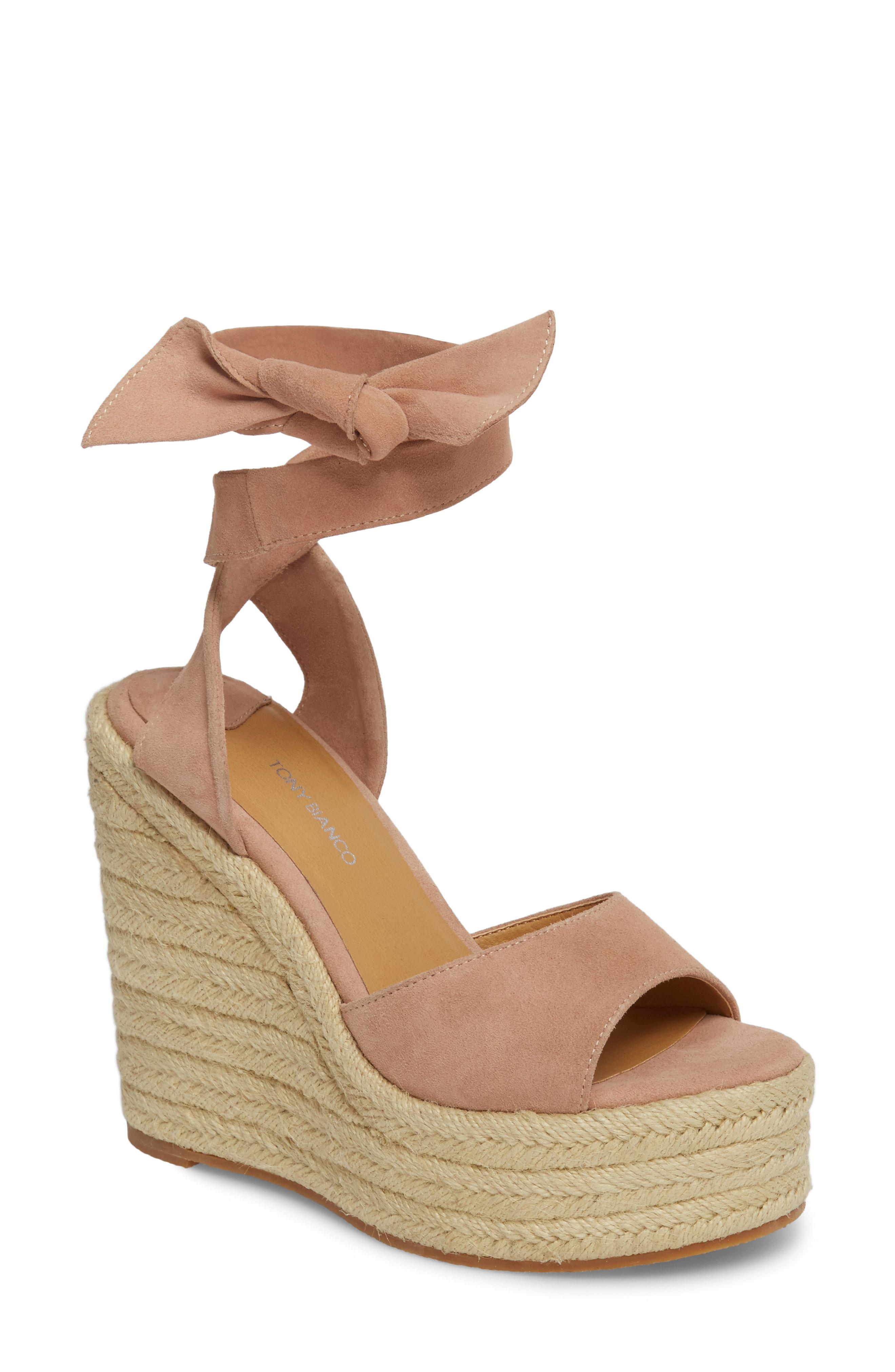 acc4268a7b75 Lyst - Tony Bianco Barca Espadrille Wedge Sandal in Brown
