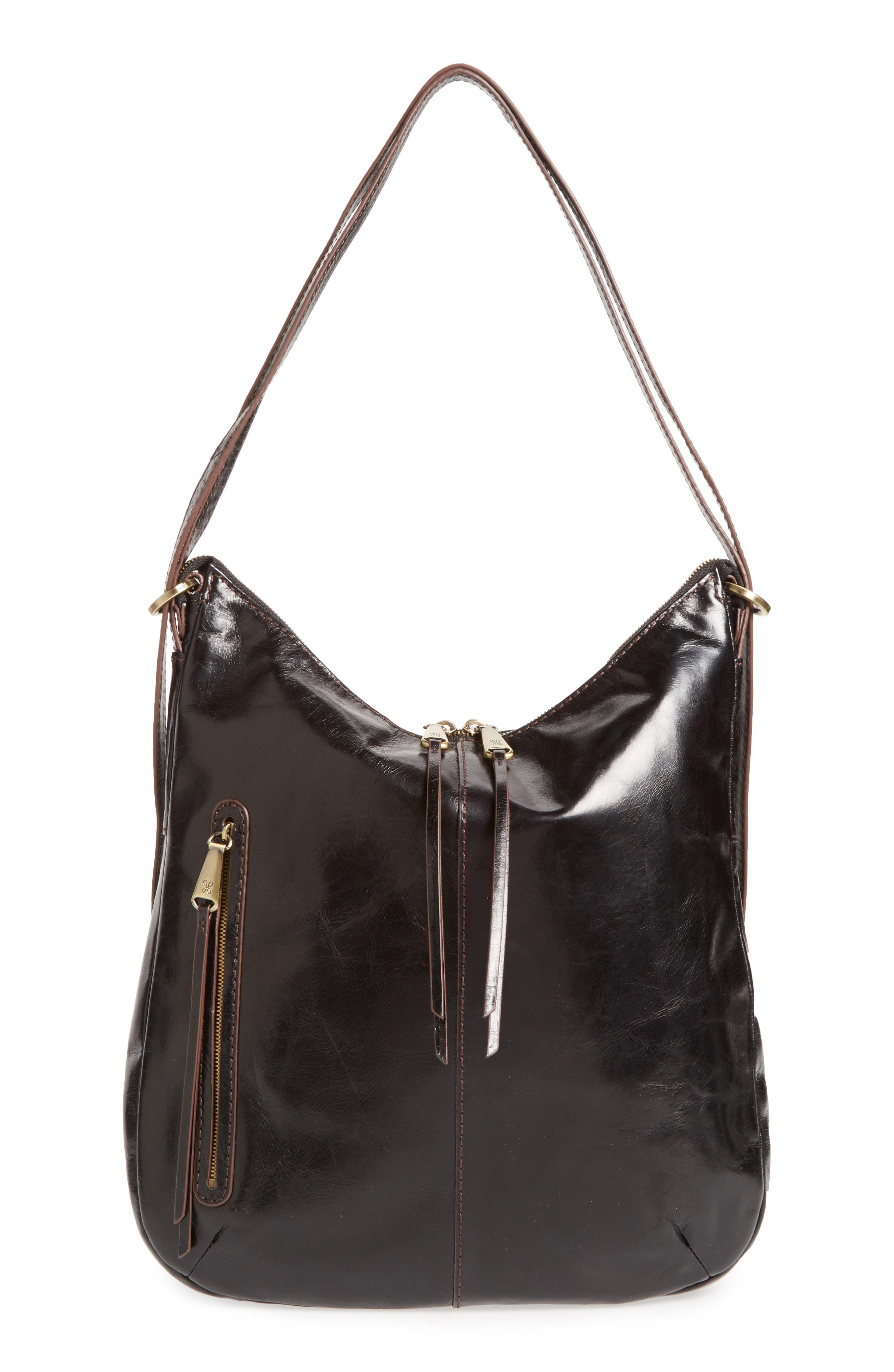 2865a66218 Lyst - Hobo Merrin Leather Backpack in Black - Save 7%