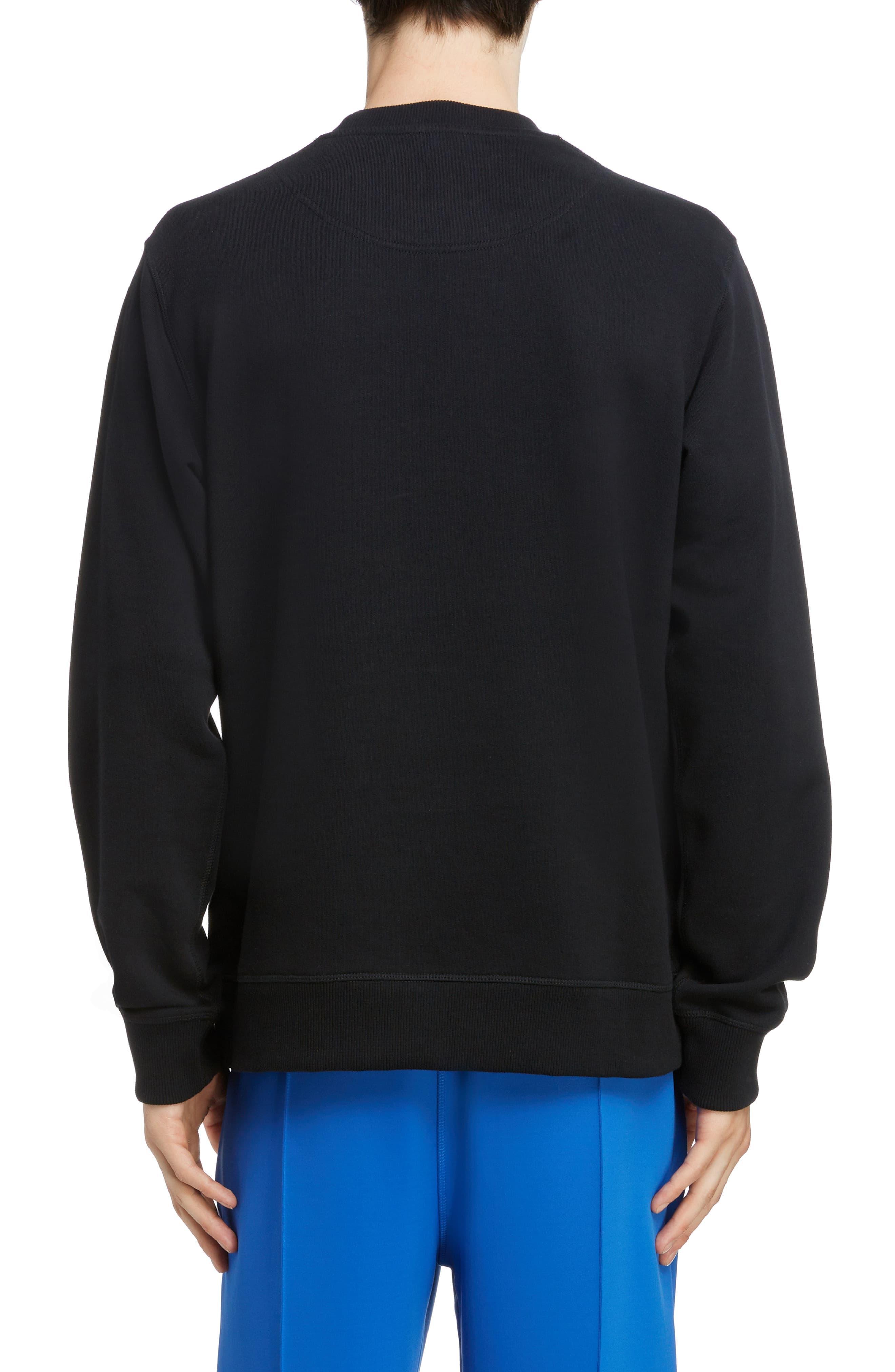 68e2b01e3 KENZO - Black Embroidered Eye Sweatshirt for Men - Lyst. View fullscreen
