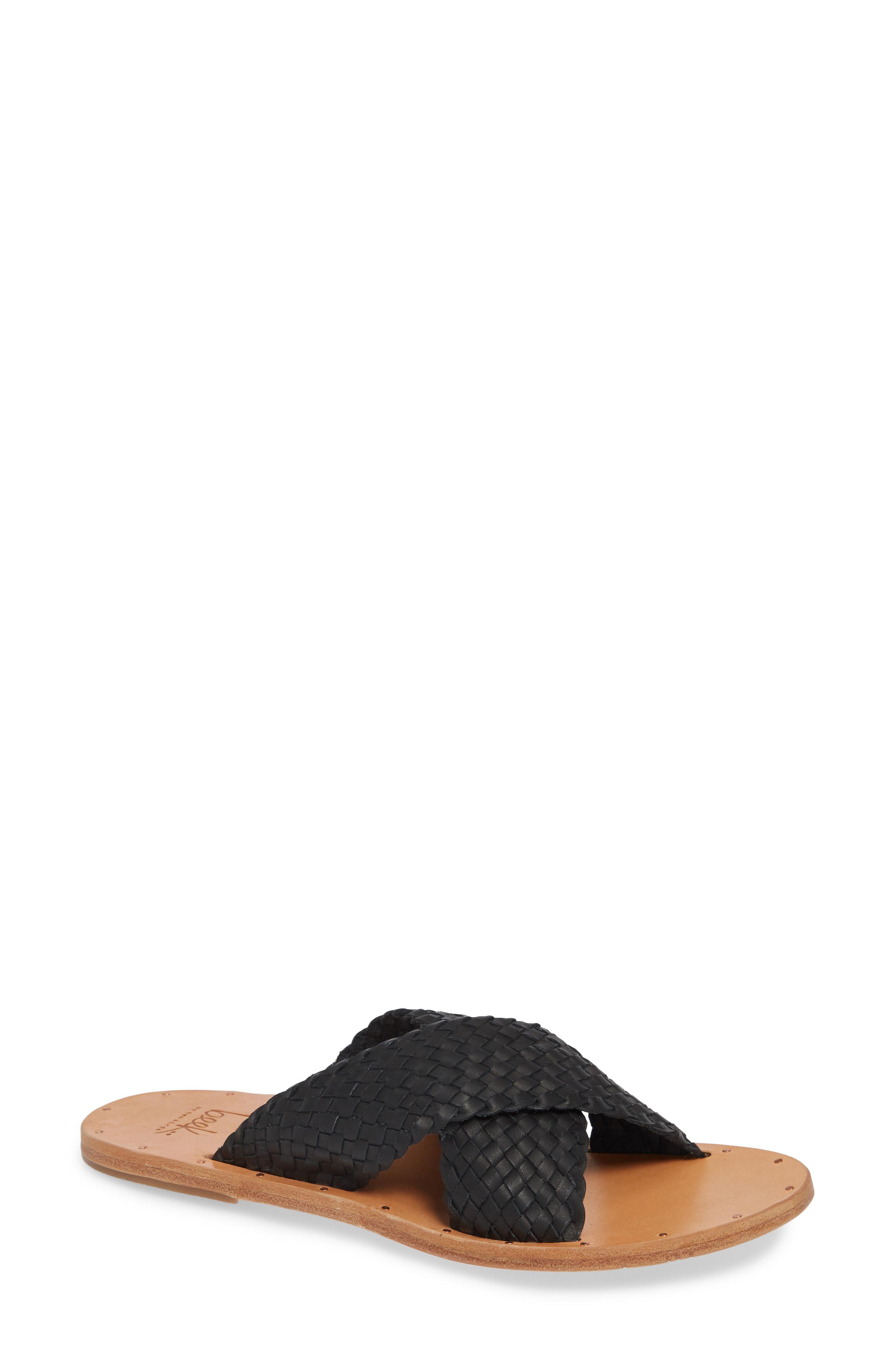 bc3b55079bd3 Lyst - Beek Plover Sandle in Black