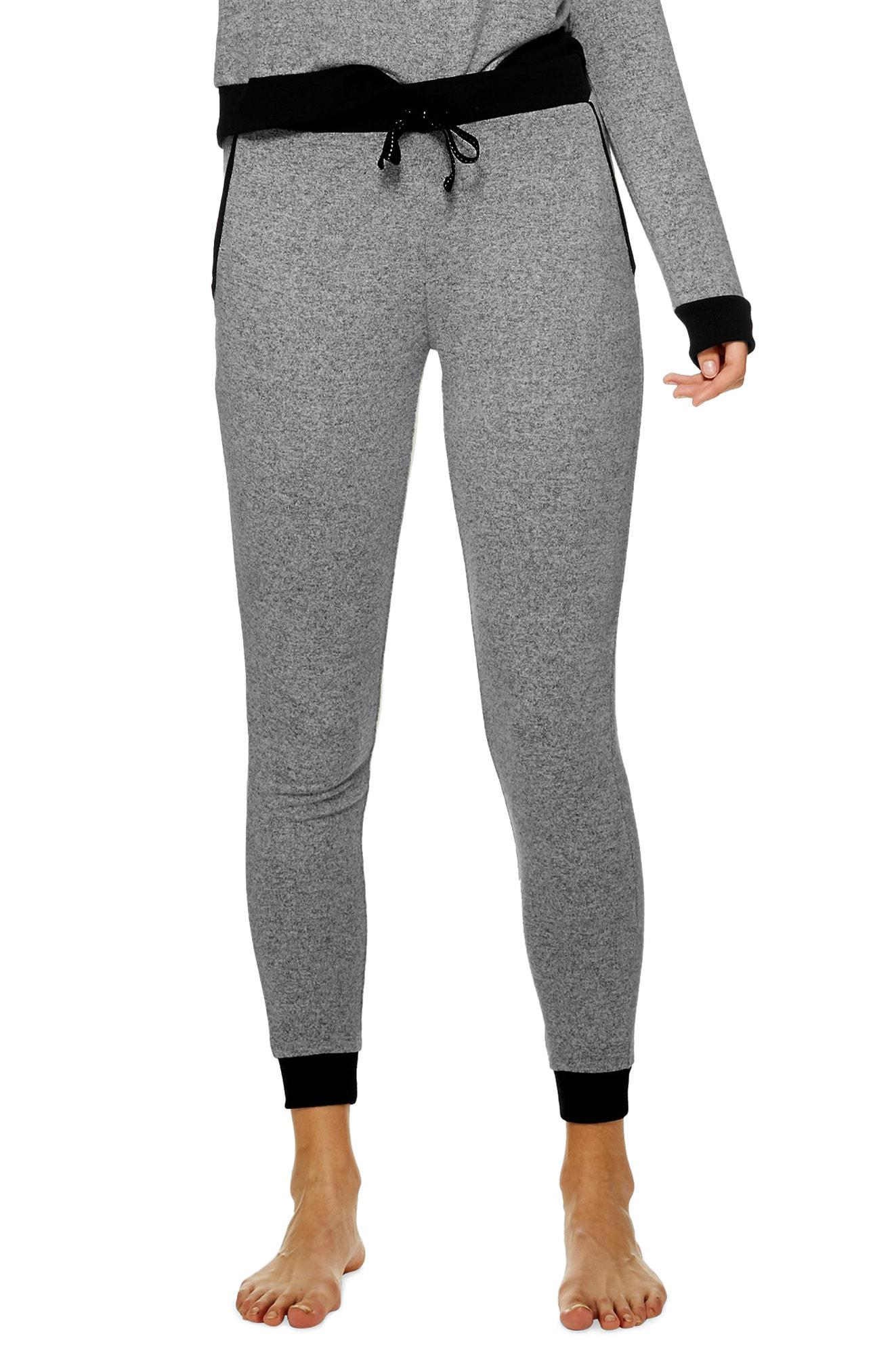 84f9ef6769098 Lyst - Topshop Supersoft Jogger Pants in Gray