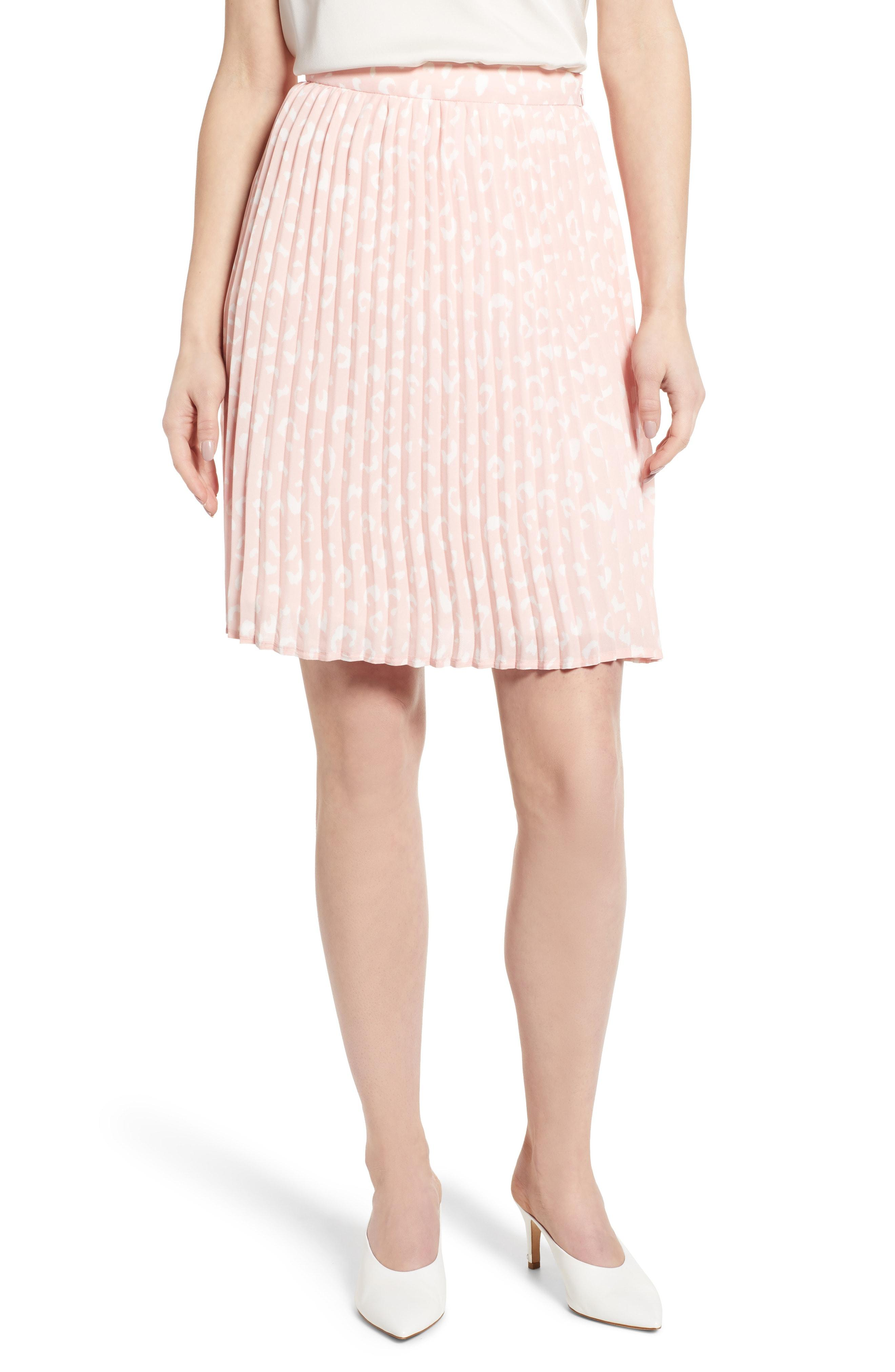 9382047a64b Lyst - Gibson X International Women s Day Thamarr Pleated Skirt in Pink