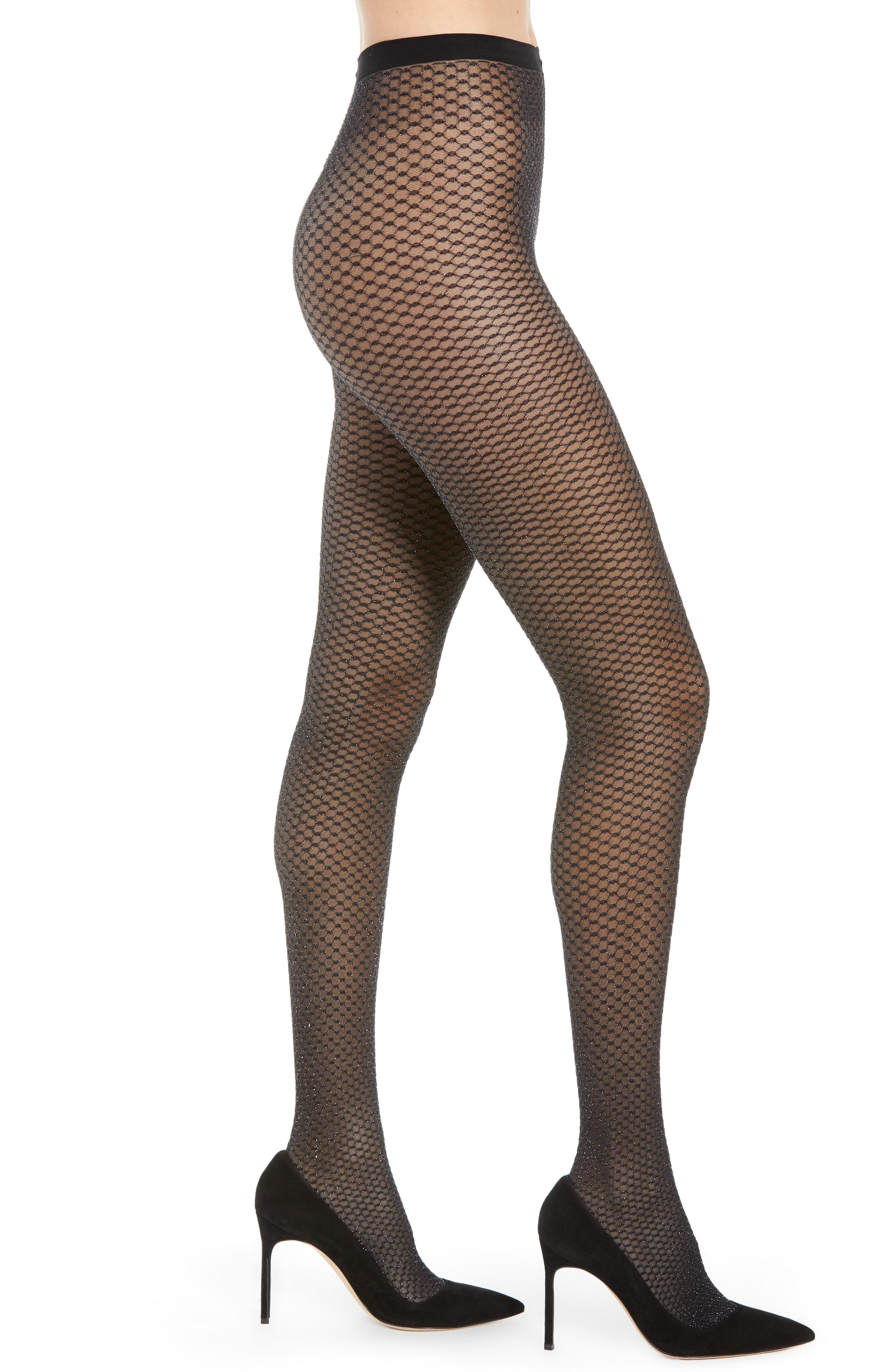963ce16611f1c Wolford. Women's Night Sparkle Fishnet Tights