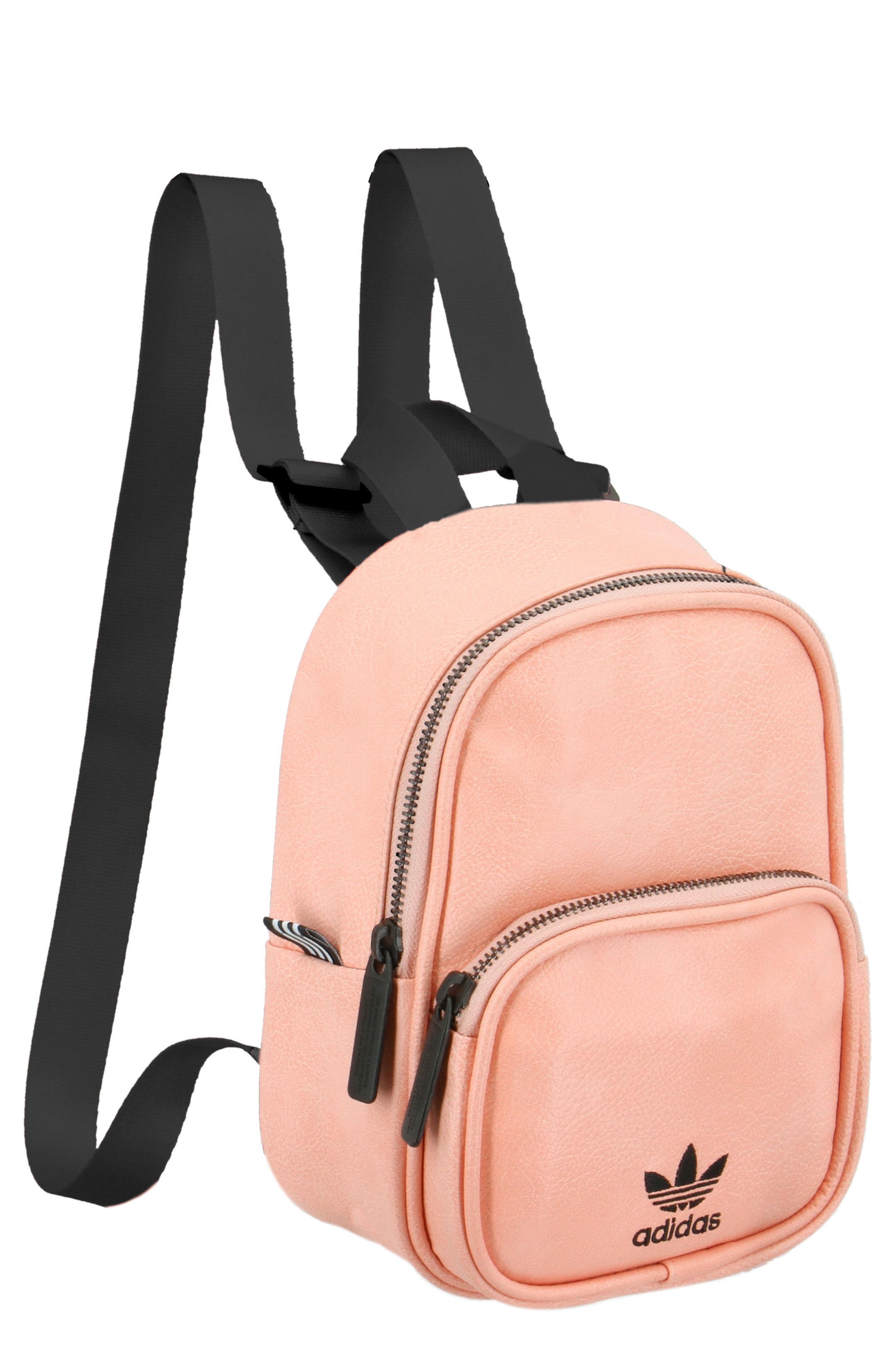 Lyst - adidas Originals Mini Backpack in Pink 55403de11e540