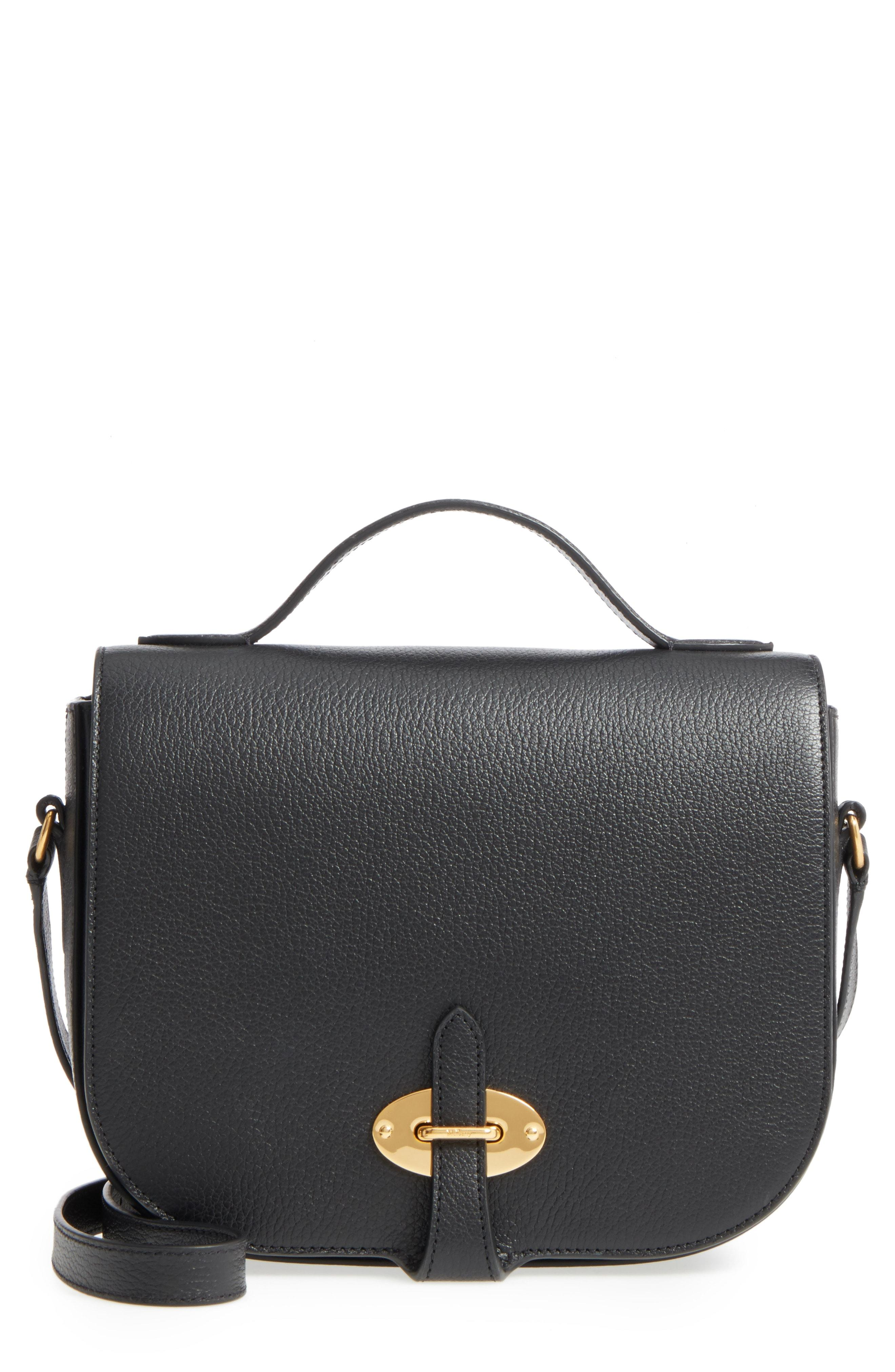 9cefd8a5d3 Lyst - Mulberry Tenby Calfskin Leather Crossbody Bag - in Black