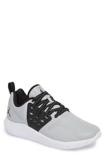 Nike Jordan Grind Running Shoe in Black