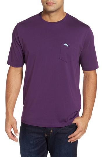 Lyst Tommy Bahama Bali Skyline Pocket T Shirt In Purple