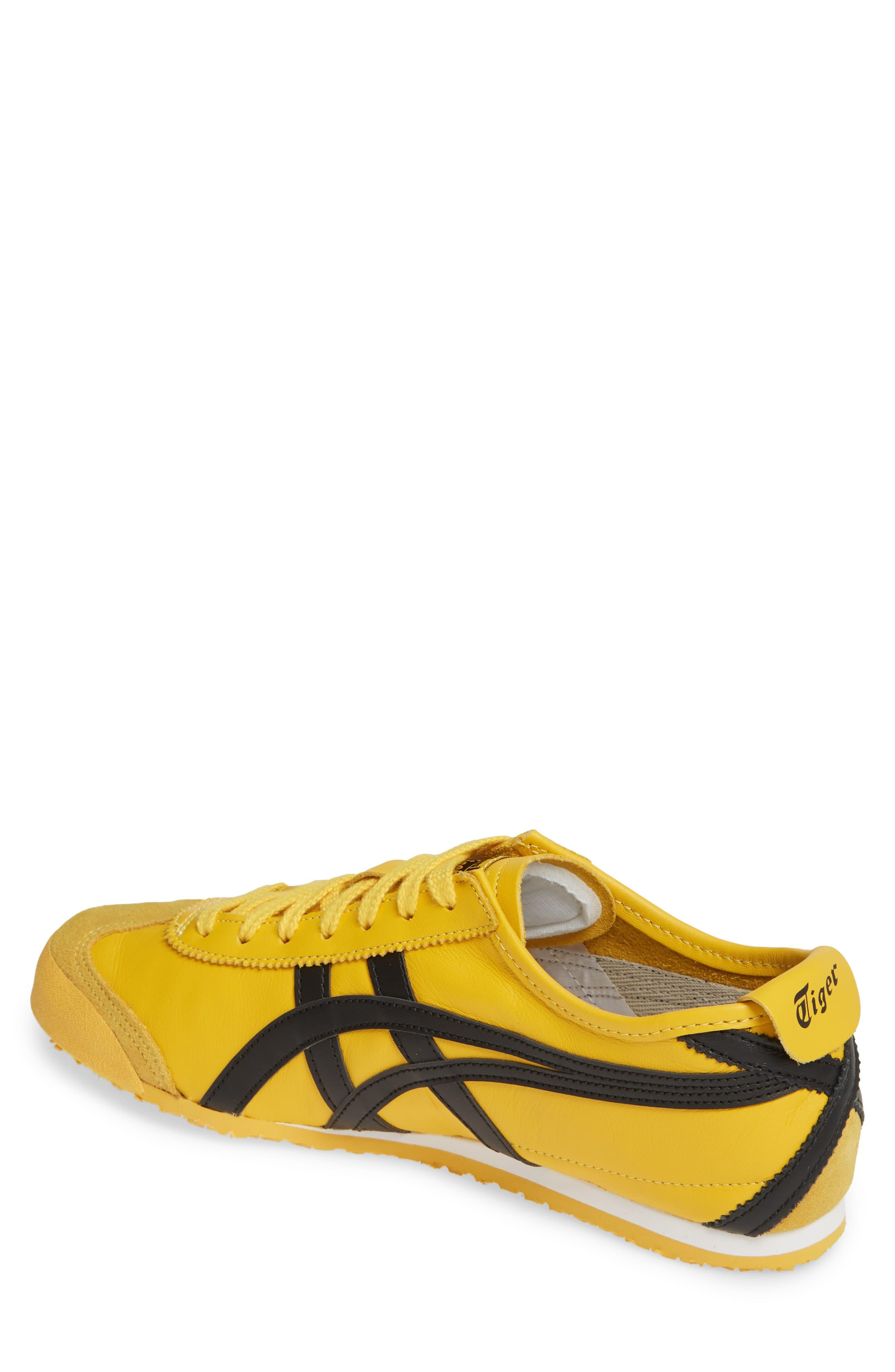 huge discount 1ed72 406a3 Men's Yellow Asics Onitsuka Tiger Mexico 66 Low Top Sneaker