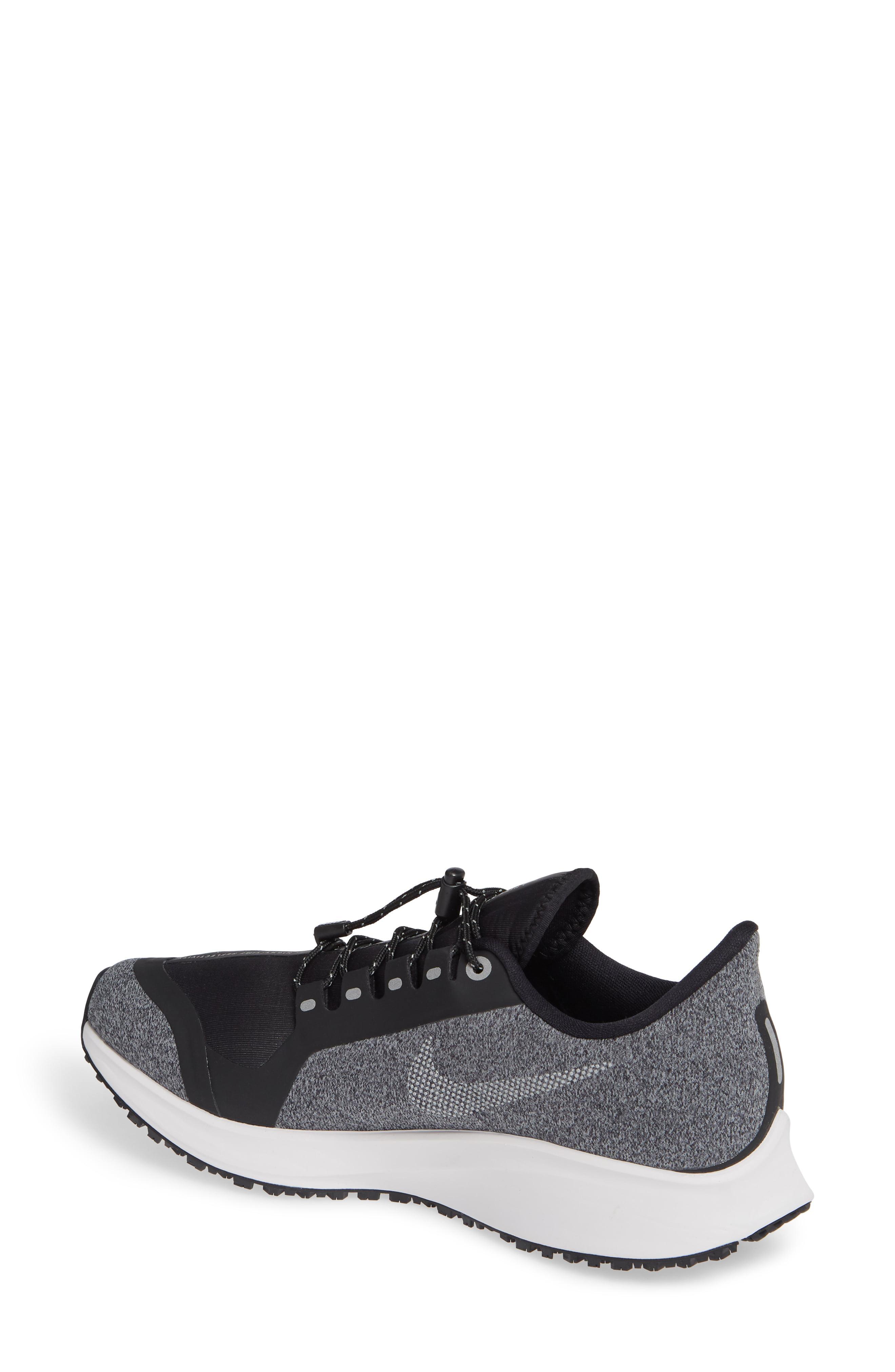 54a7637e3faad Nike - Gray Air Zoom Pegasus 35 Shield Gs Water Repellent Running Shoe -  Lyst. View fullscreen
