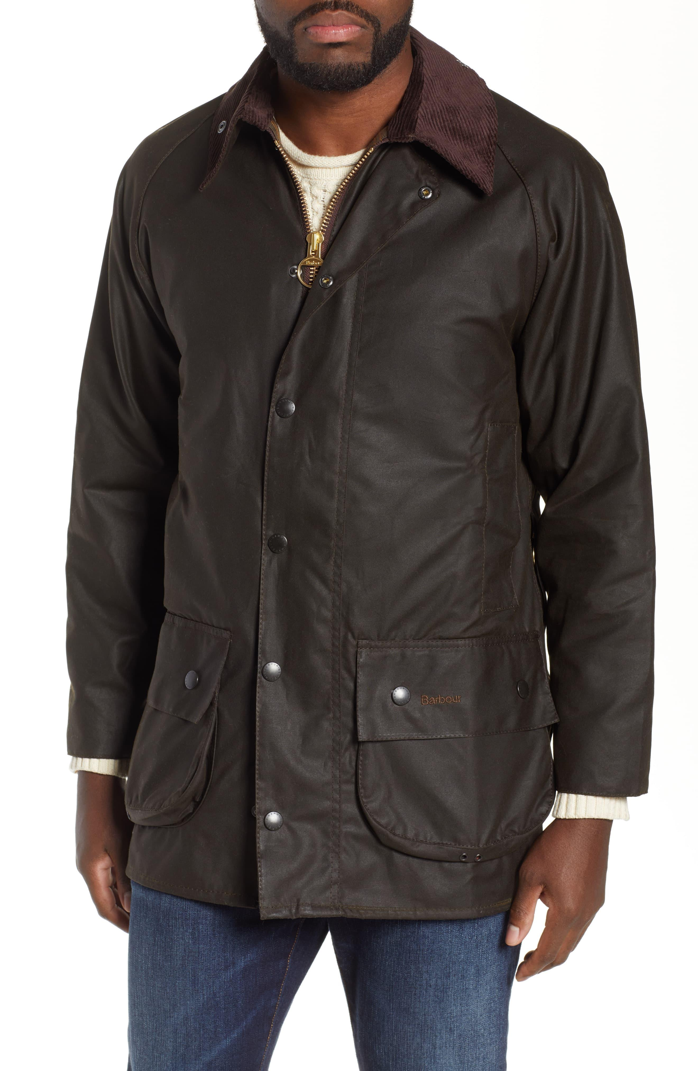 20412a8df6dd Barbour - Green 'classic Beaufort' Relaxed Fit Waxed Cotton Jacket for Men  - Lyst. View fullscreen