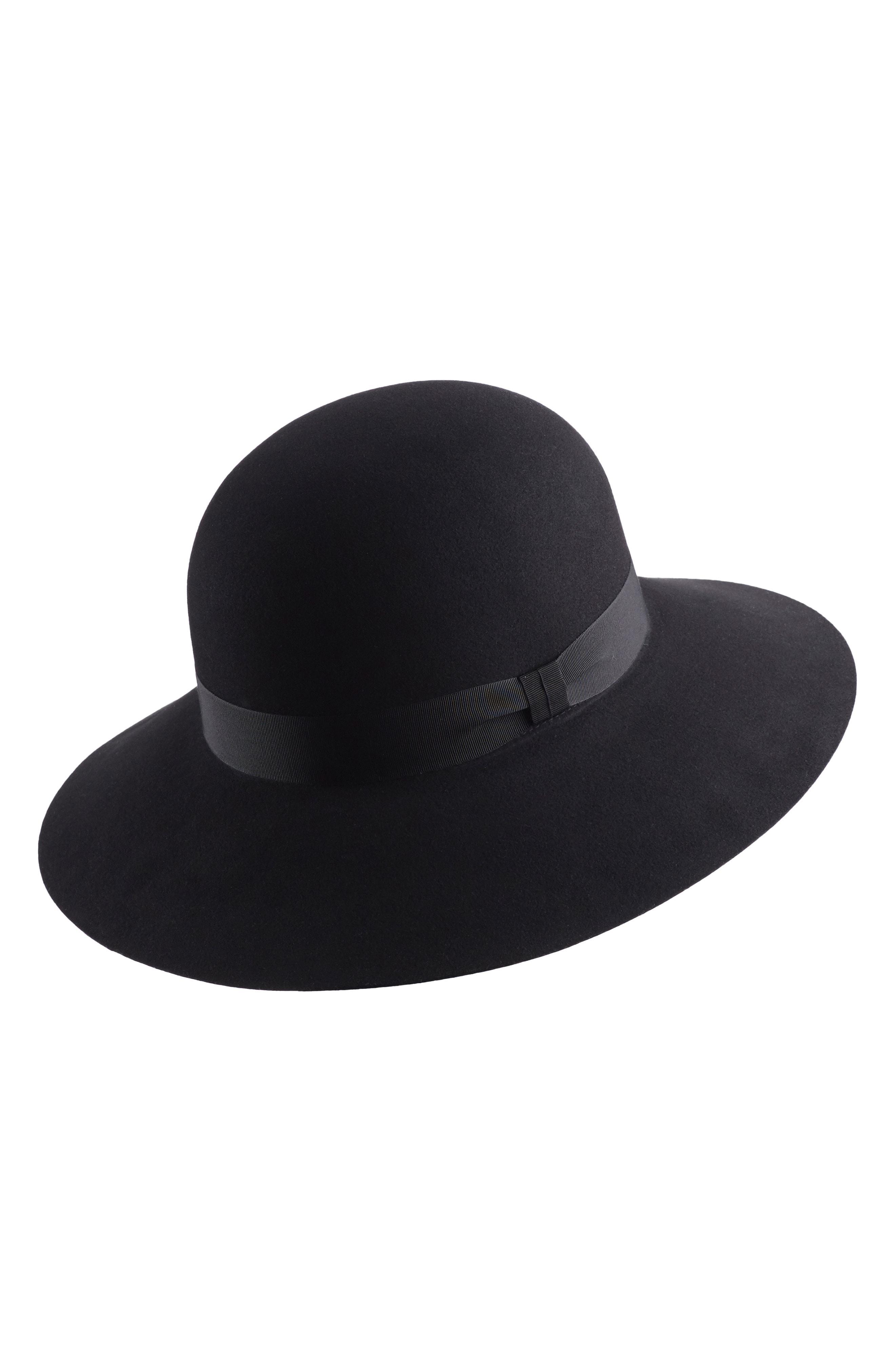 7d4e3bc5ad5 Lyst - Helen Kaminski Wool Hat in Black