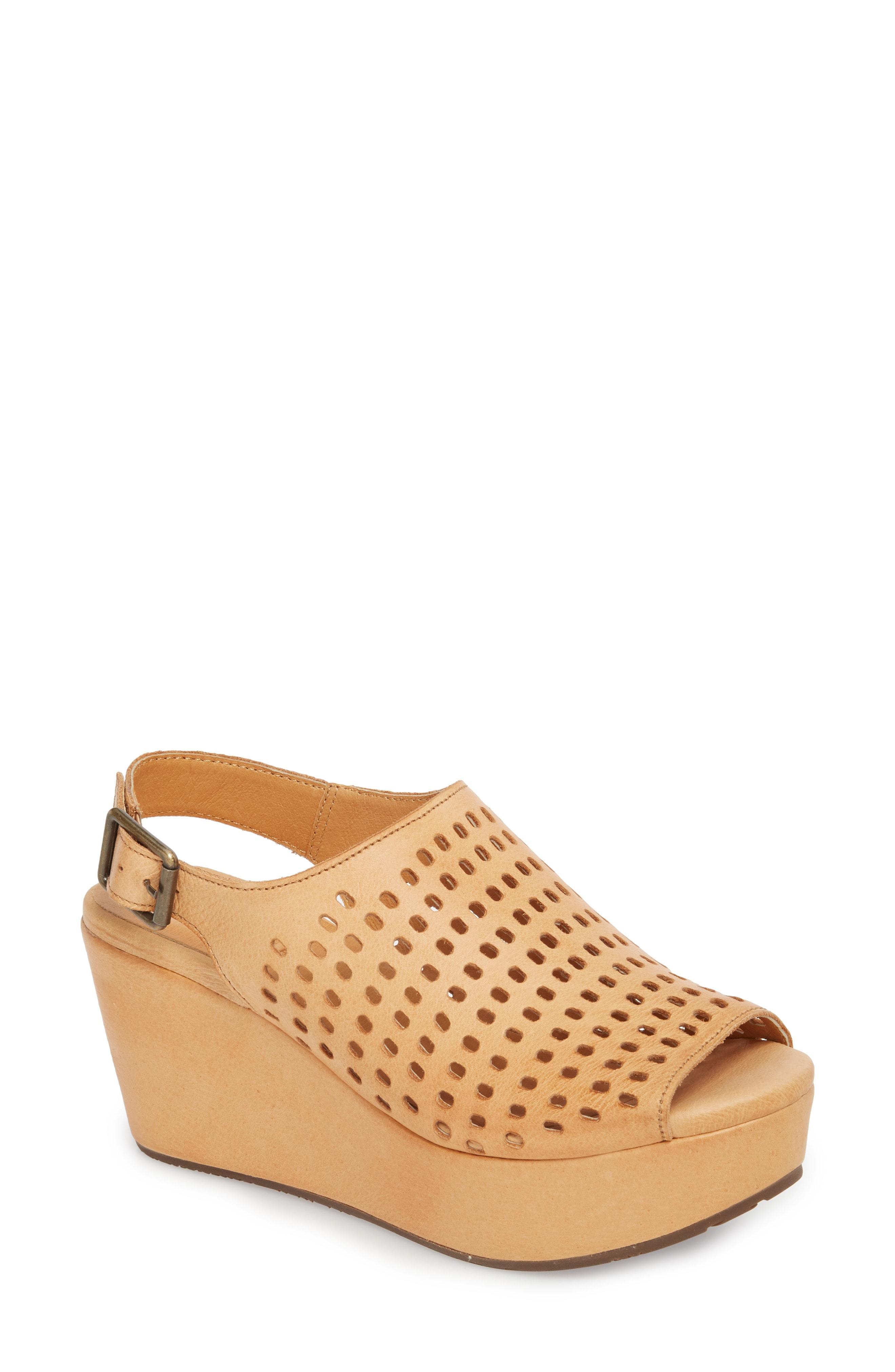 56452548c1d4 Lyst - Chocolat Blu Wally Platform Wedge Sandal in Brown