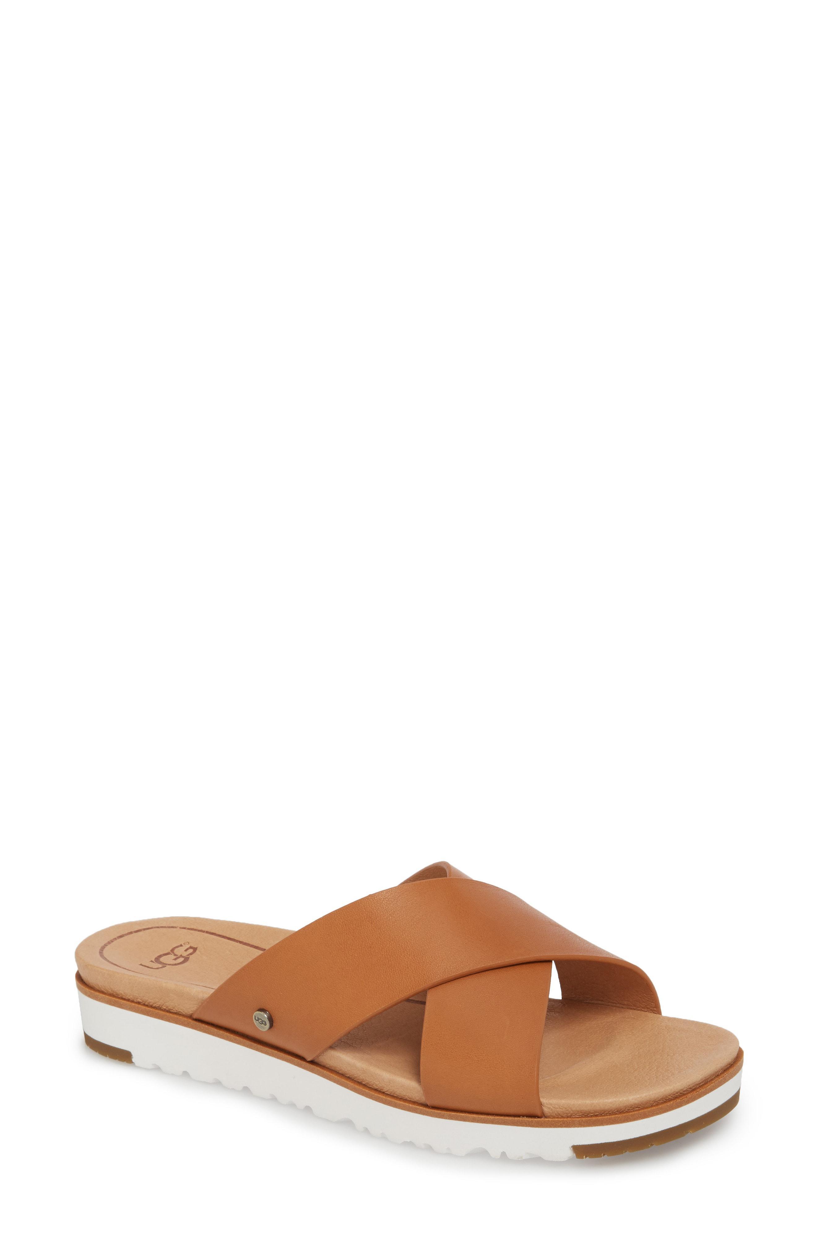 4d85ff5d7666 Lyst - Ugg Ugg  kari  Sandal in Brown